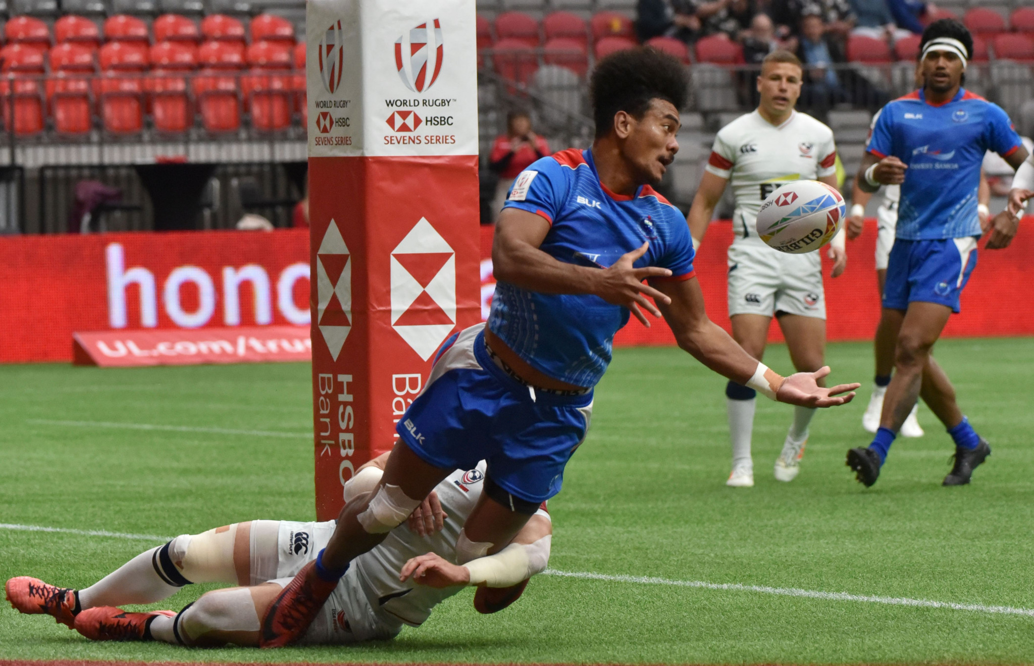 Samoa will be among 12 teams taking part in the men's World Rugby repechage next summer ©Getty Images