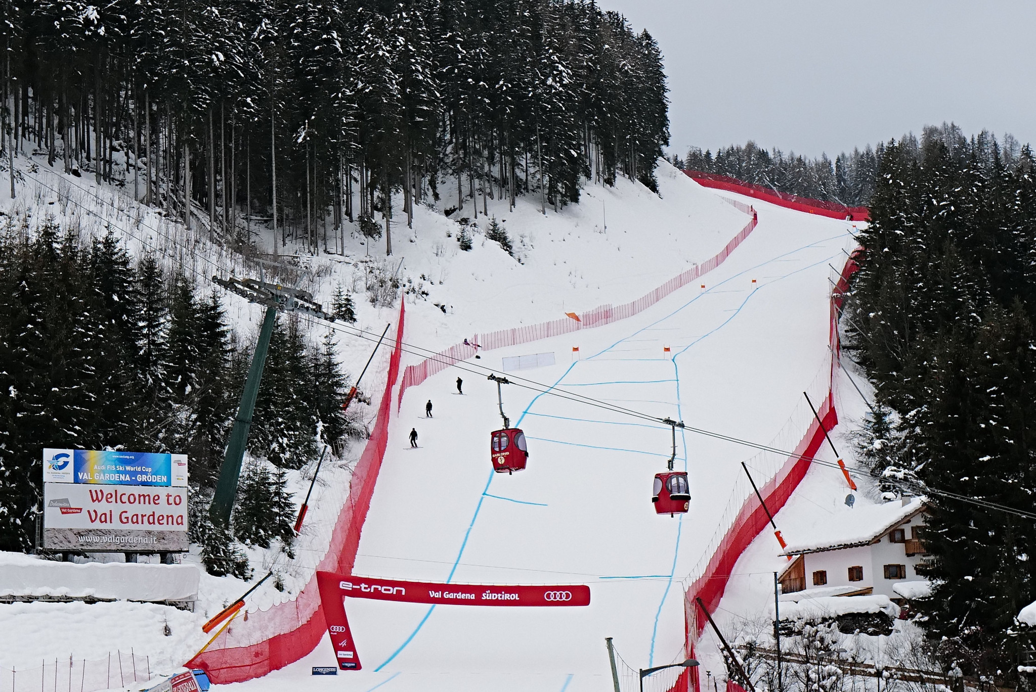 Val Gardena will host the latest men's World Cup event ©Getty Images