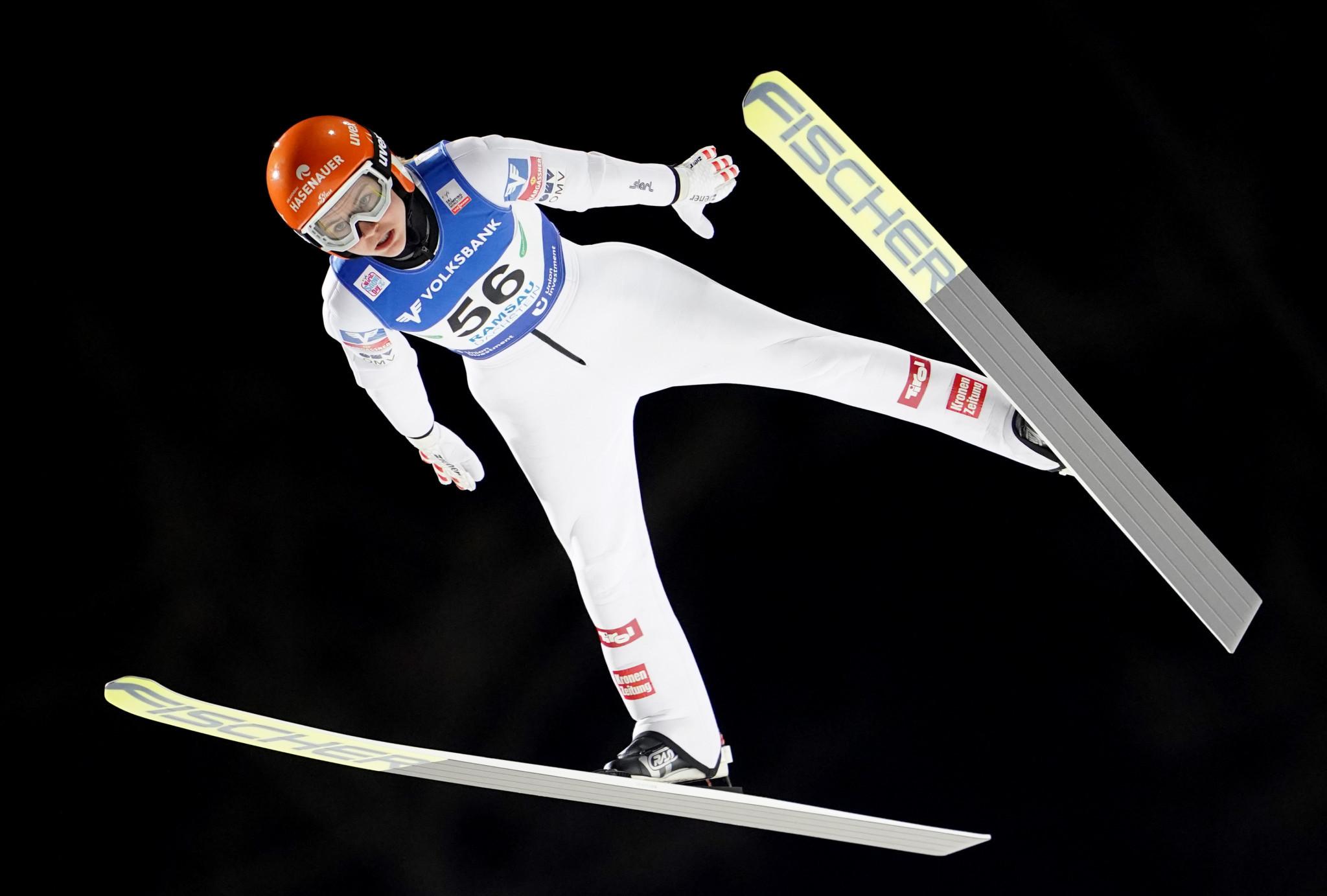 Austria's Marita Kramer topped qualification in Ramsau ©Getty Images