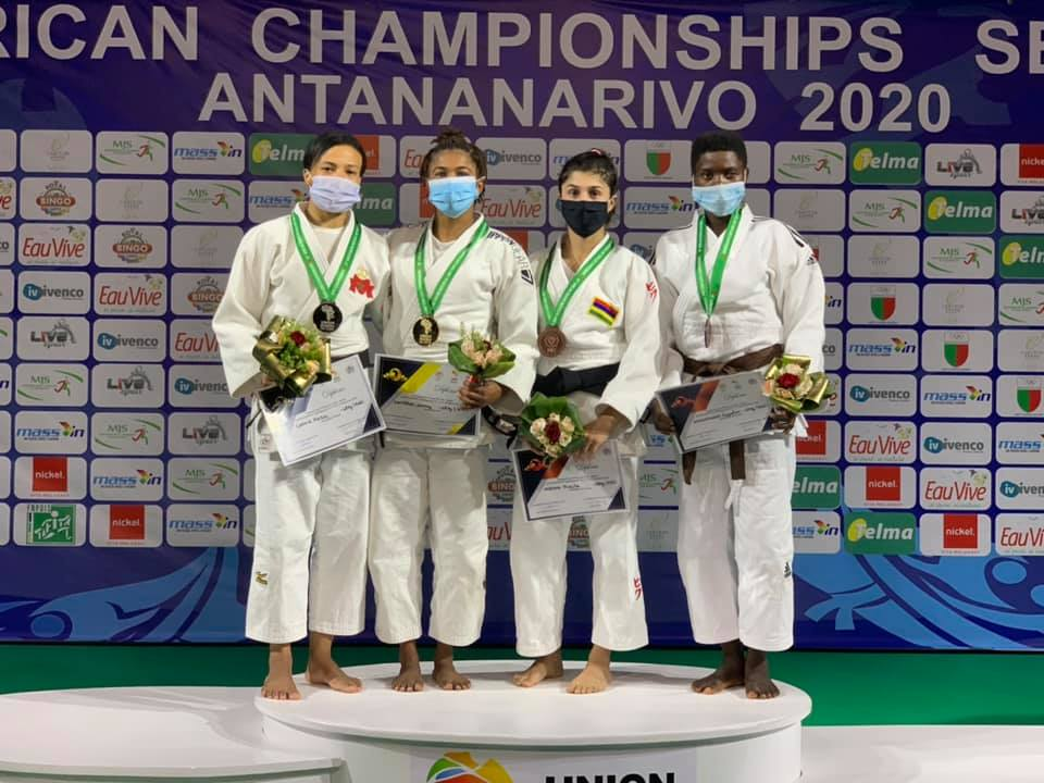 Whitebooi retains title as African Judo Championships begins in Madagascar
