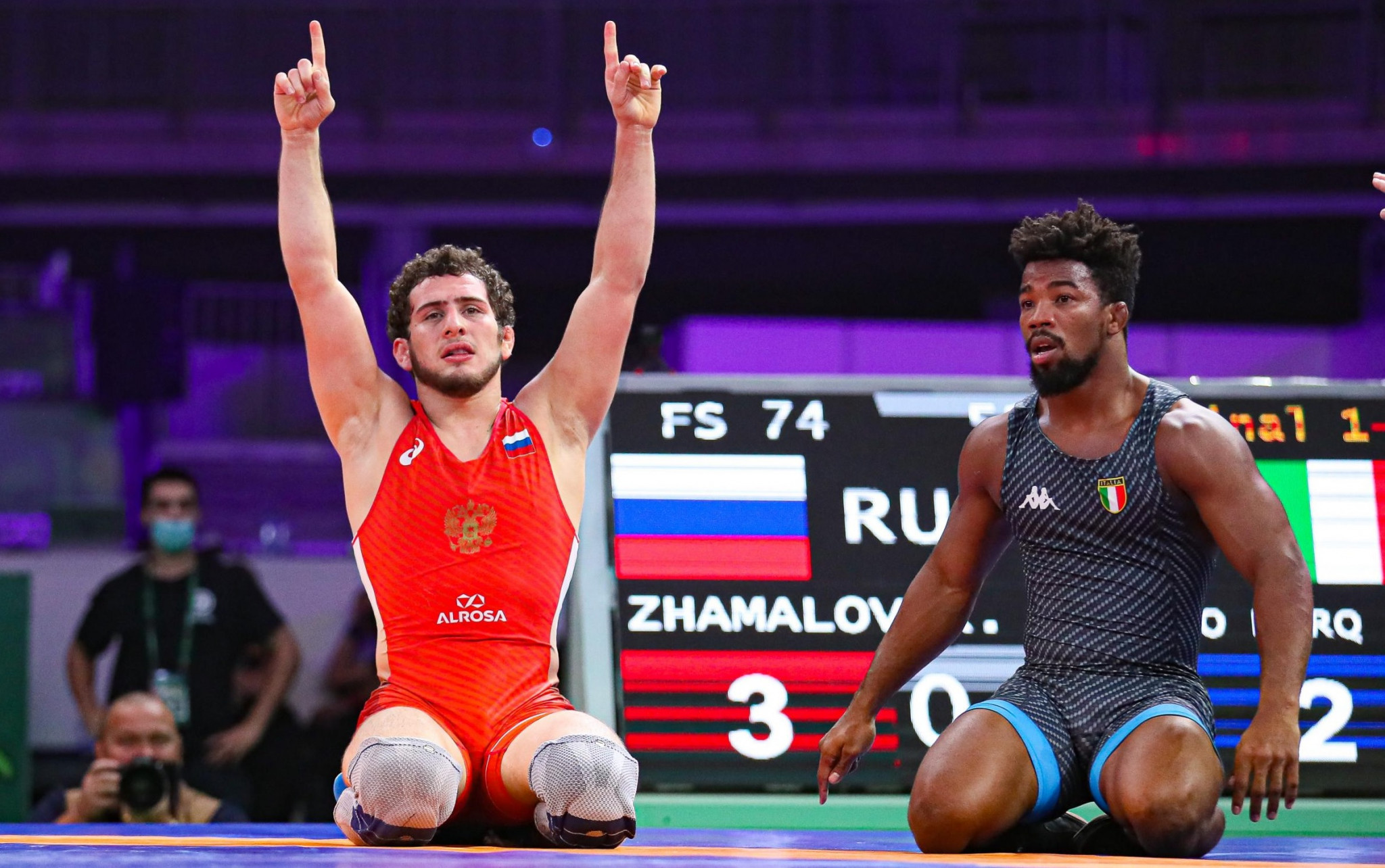 Russia claim four freestyle golds as UWW Individual World Cup continues