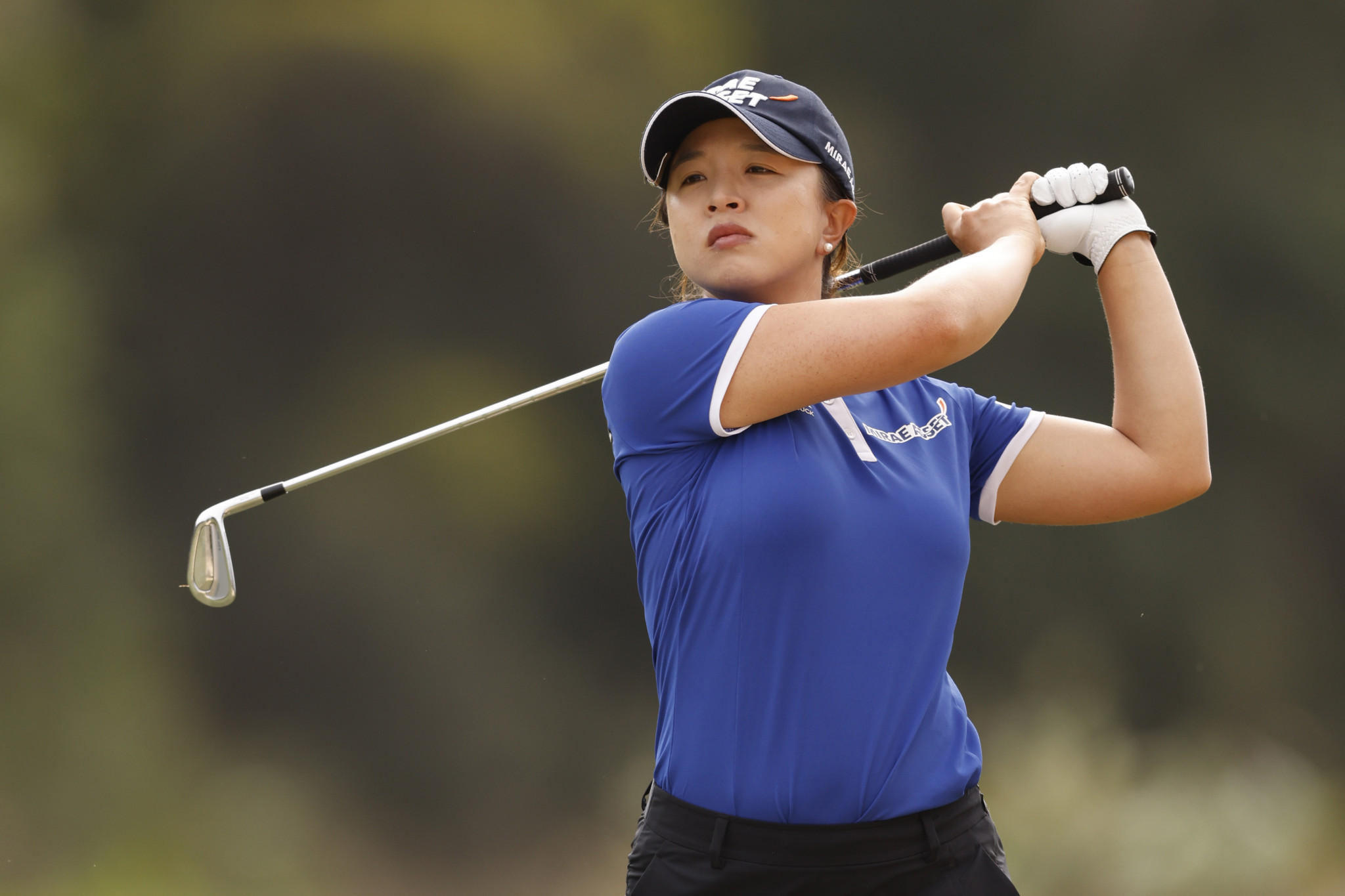 Defending champion Kim Sei-young is two shots off the lead ©Getty Images