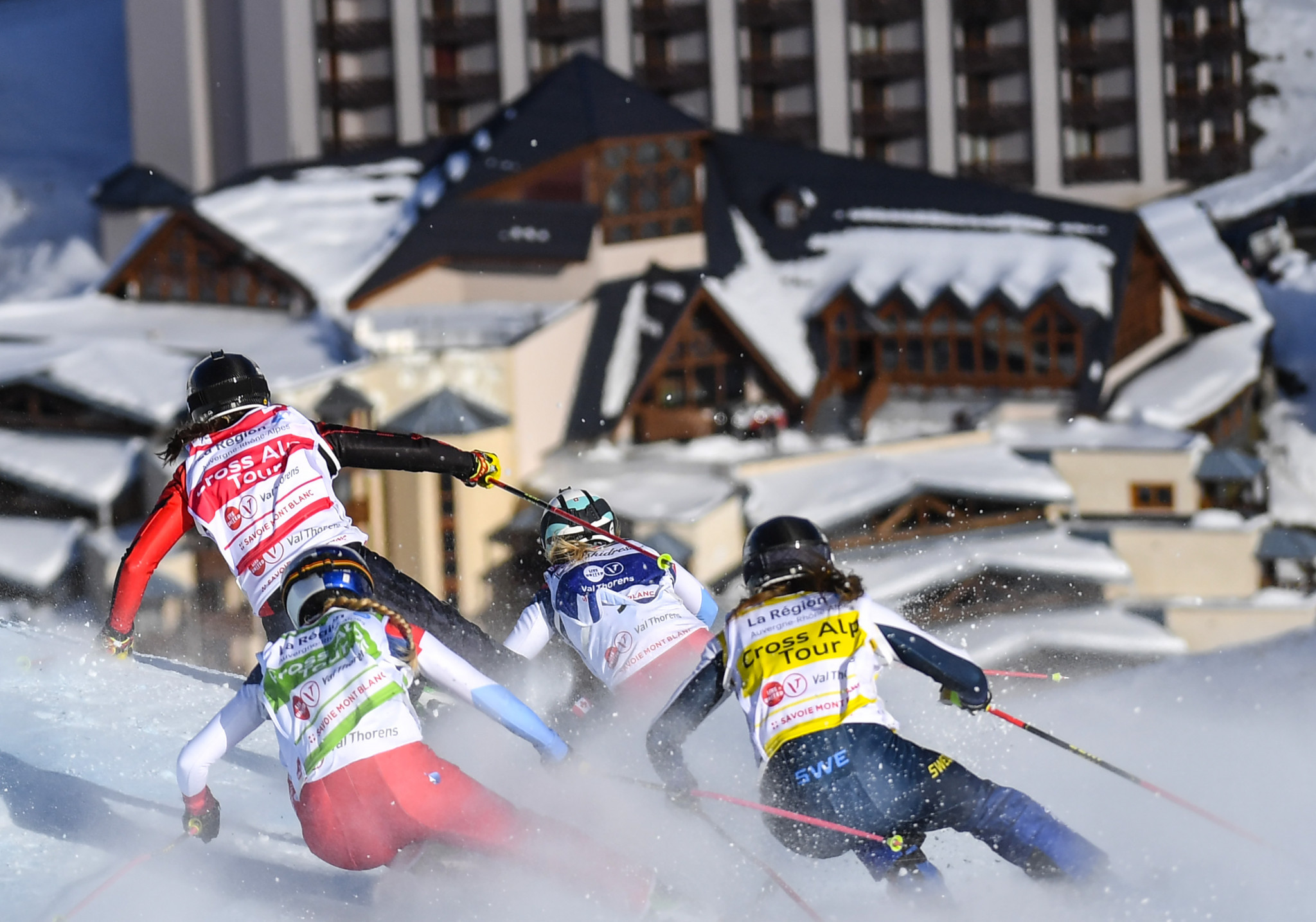 Val Thorens set to stage Ski Cross World Cup doubleheader