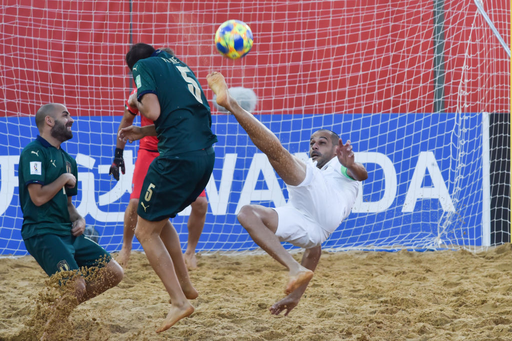 The 2021 Beach Soccer World Cup is due to be held in Russia ©Getty Images