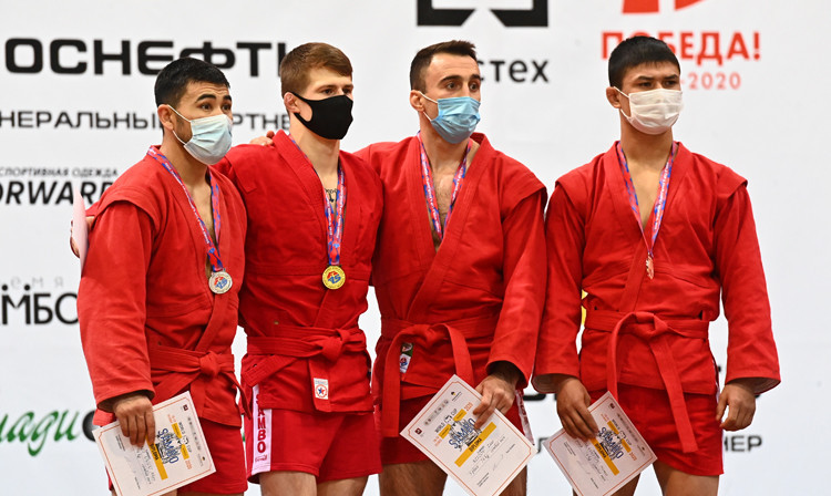 A few sambo competitions have been held recently despite the COVID-19 pandemic ©FIAS