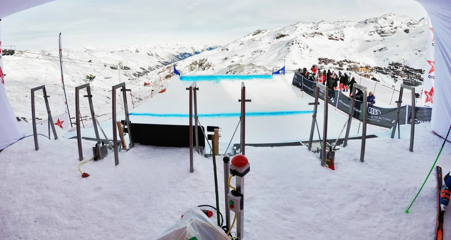 Ski Cross World Cup leg in Val Thorens called off due to strong winds