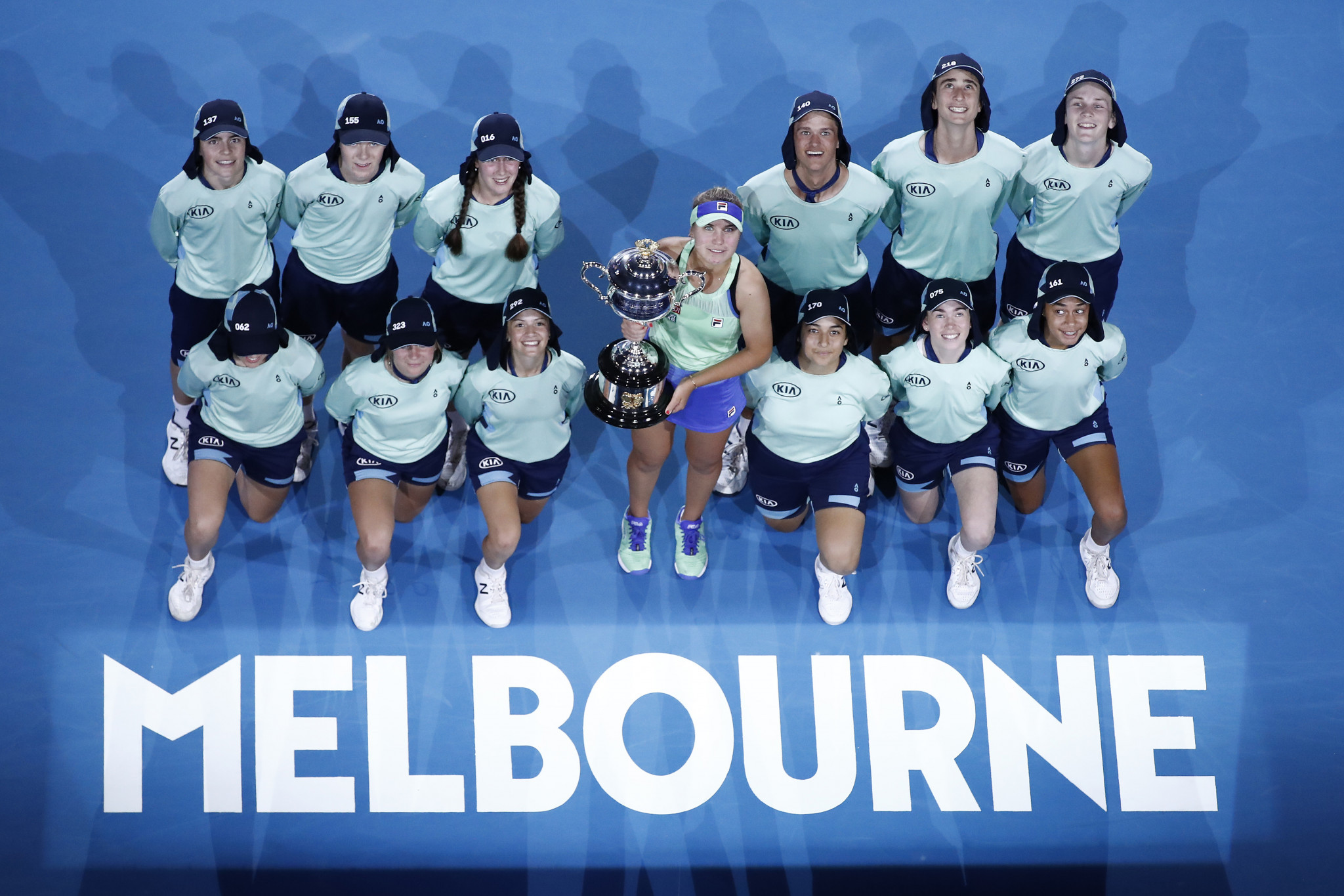 This year's Australian Open was the only Grand Slam to be unaffected by the coronavirus pandemic ©Getty Images