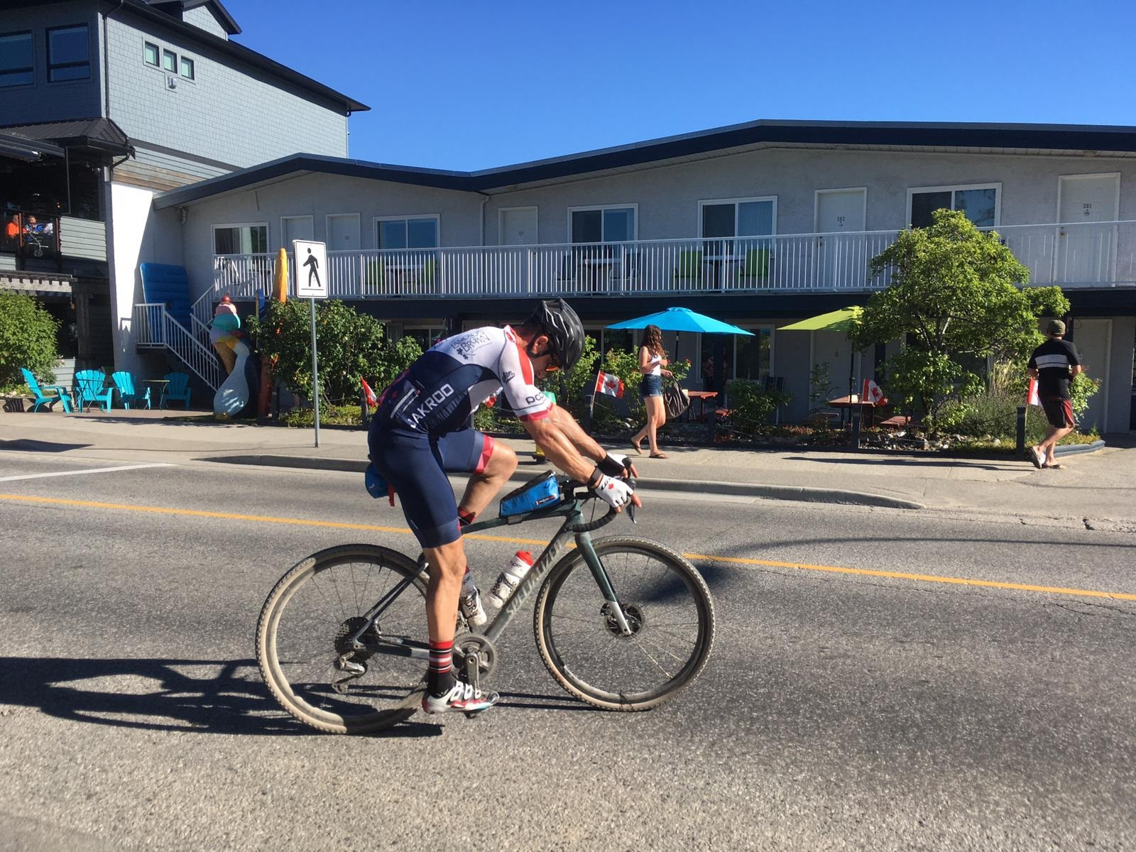 Tristen Chernove generated more than CND$33,000 for the Paralympic Foundation of Canada after taking part in the BC Epic 1000 ©Canada Cycling
