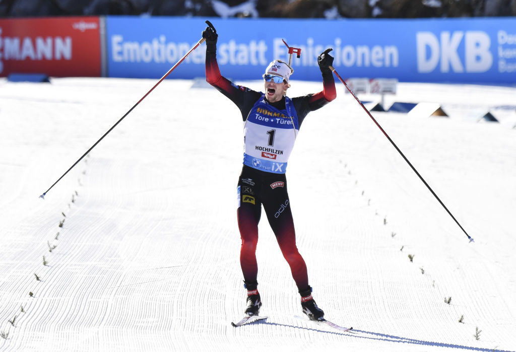 Eckhoff And Laegreid Record Second Straight Wins At Ibu World Cup