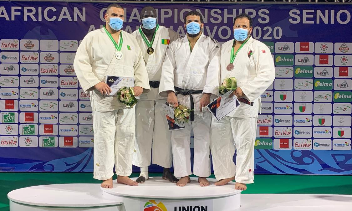 Ndiaye and Abd el Akher retain titles at African Judo Championships