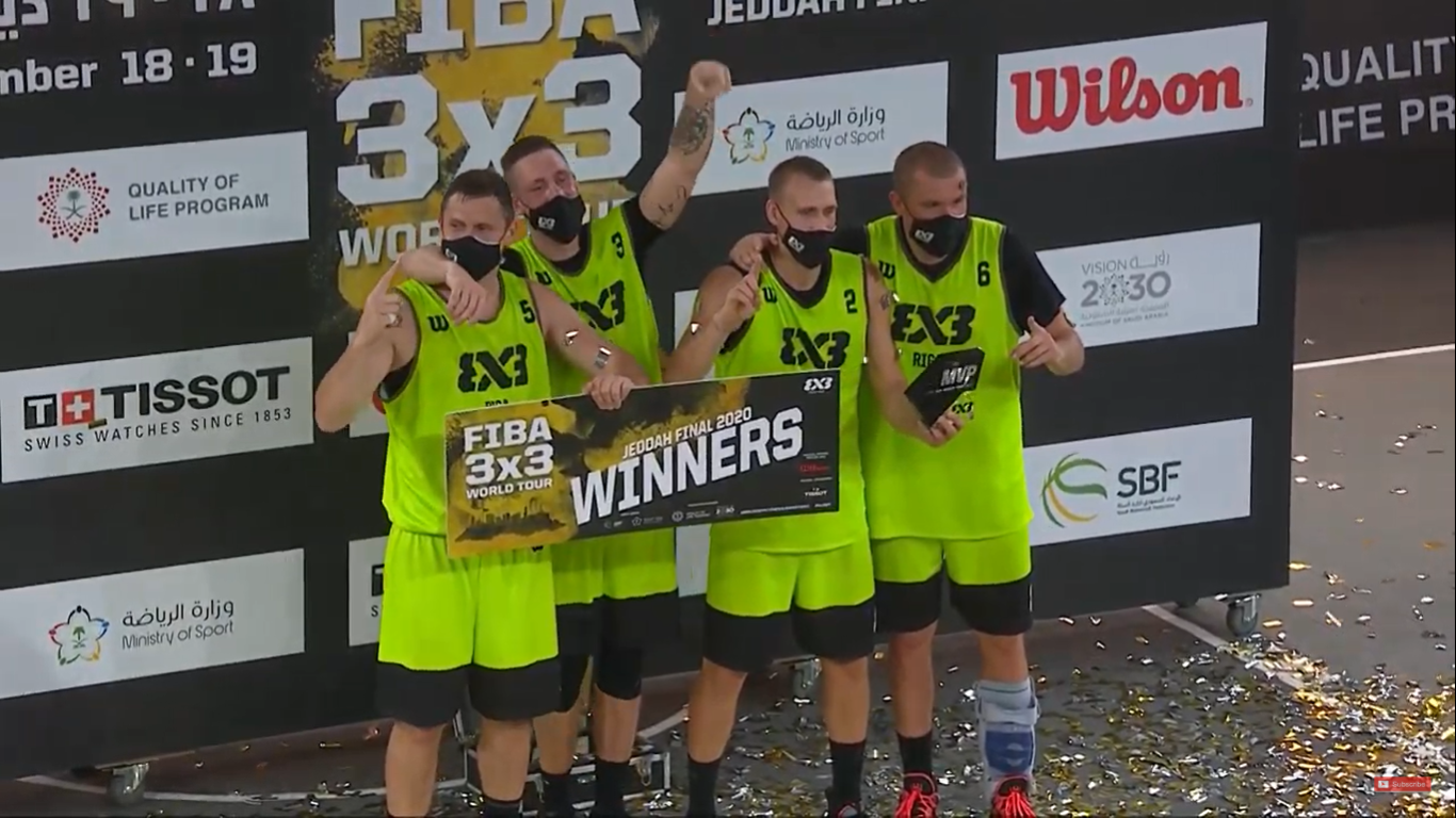 Riga win 2020 FIBA 3x3 World Tour Jeddah Finals with dramatic last shot
