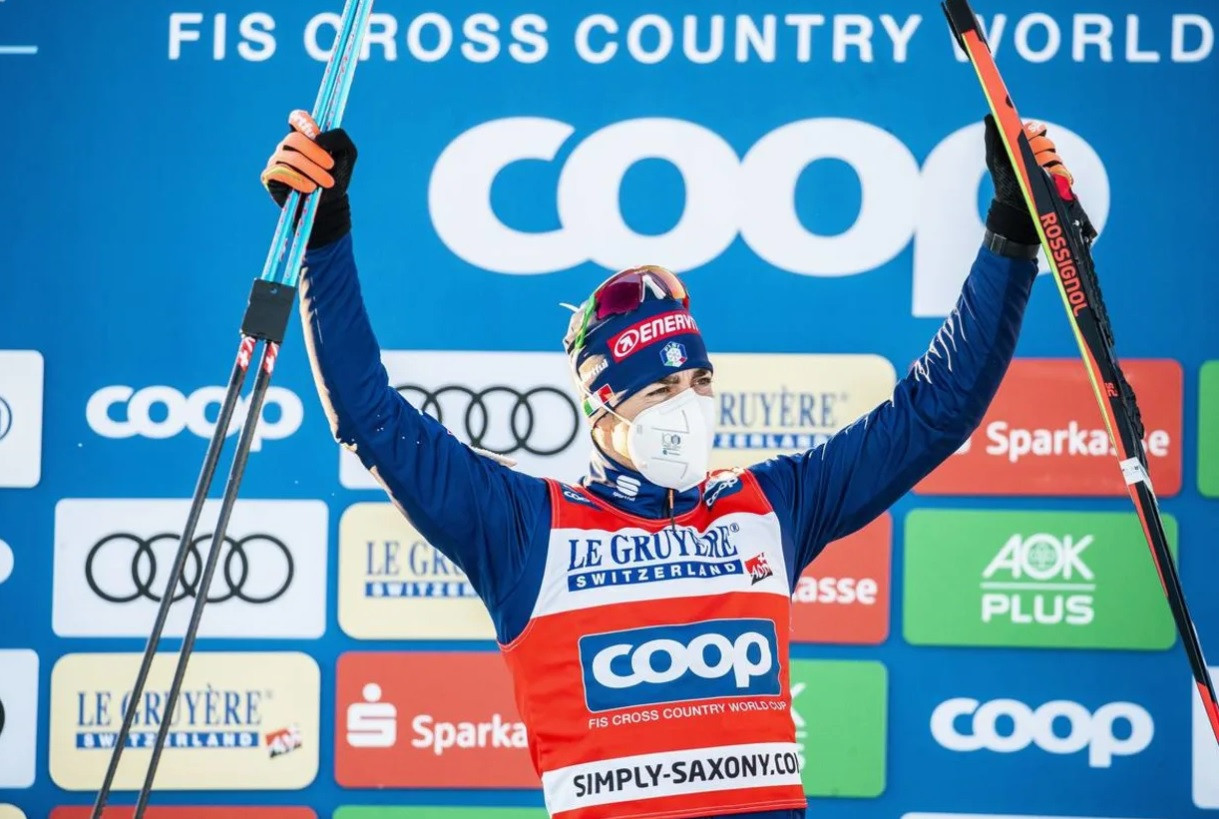 Pellegrino and Fähndrich win sprint free titles at FIS Cross-Country World Cup