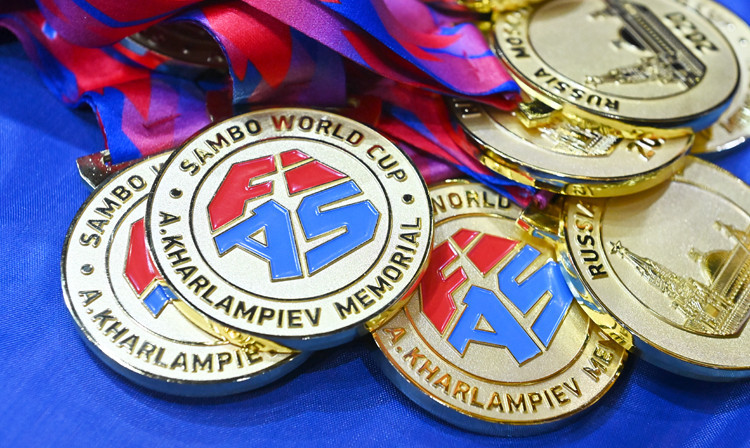 Russian domination continues on day two of FIAS Sambo World Cup with 12 more golds