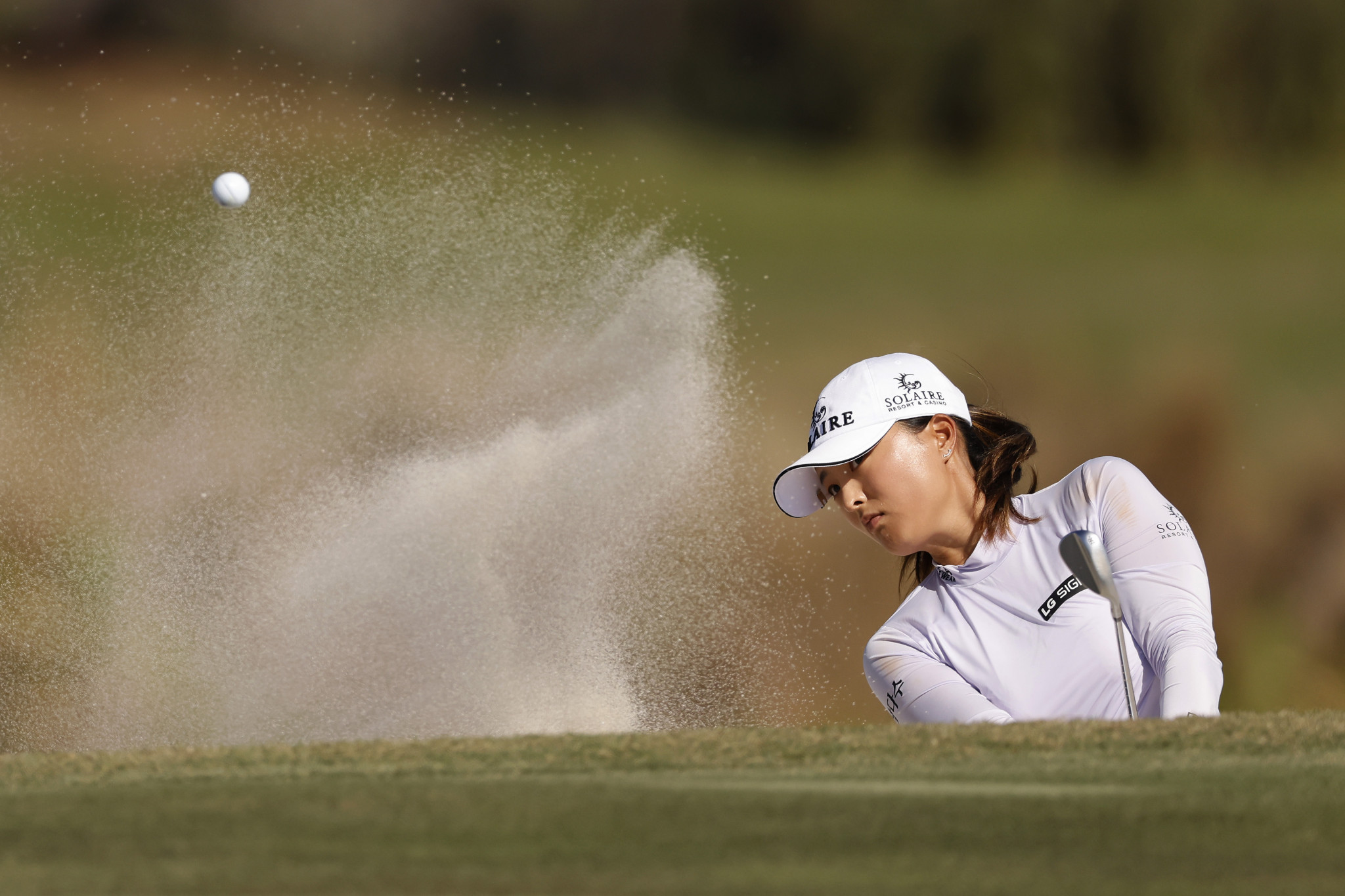Ko Jin-young has gone 42 holes without dropping a shot ©Getty Images