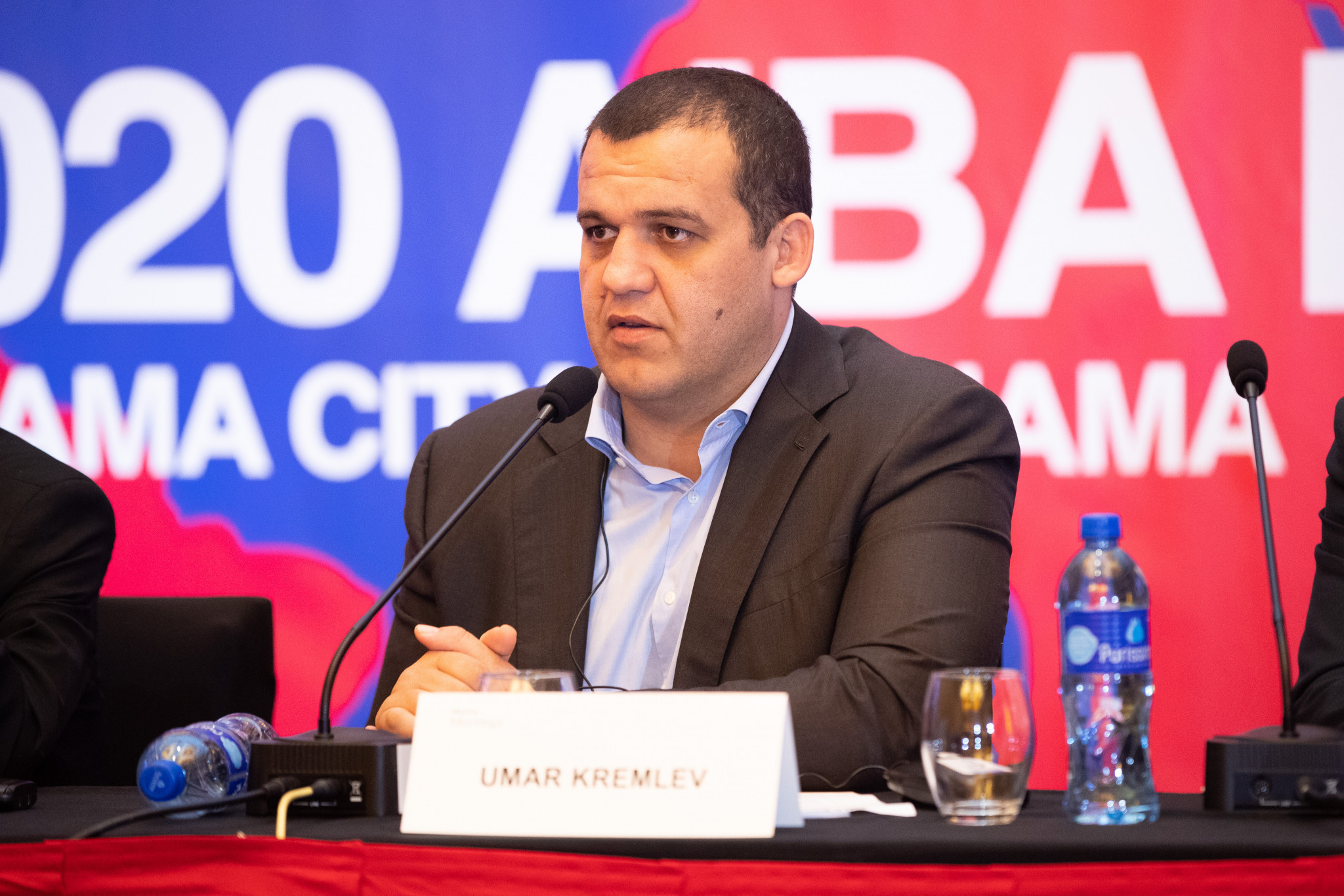 Umar Kremlev was one of five candidates on the ballot for the AIBA Presidency ©AIBA