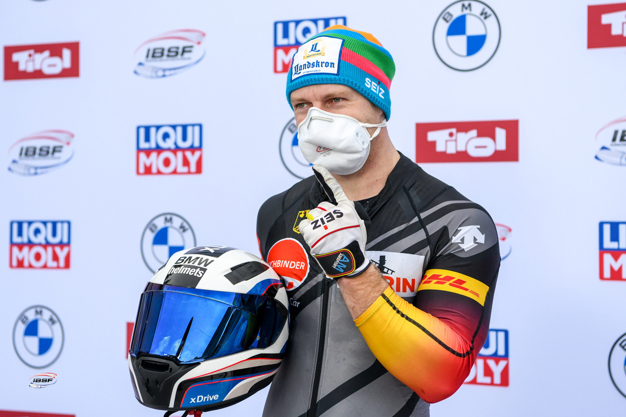 Francesco Friedrich remains the favourite in the men's bobsleigh ©IBSF