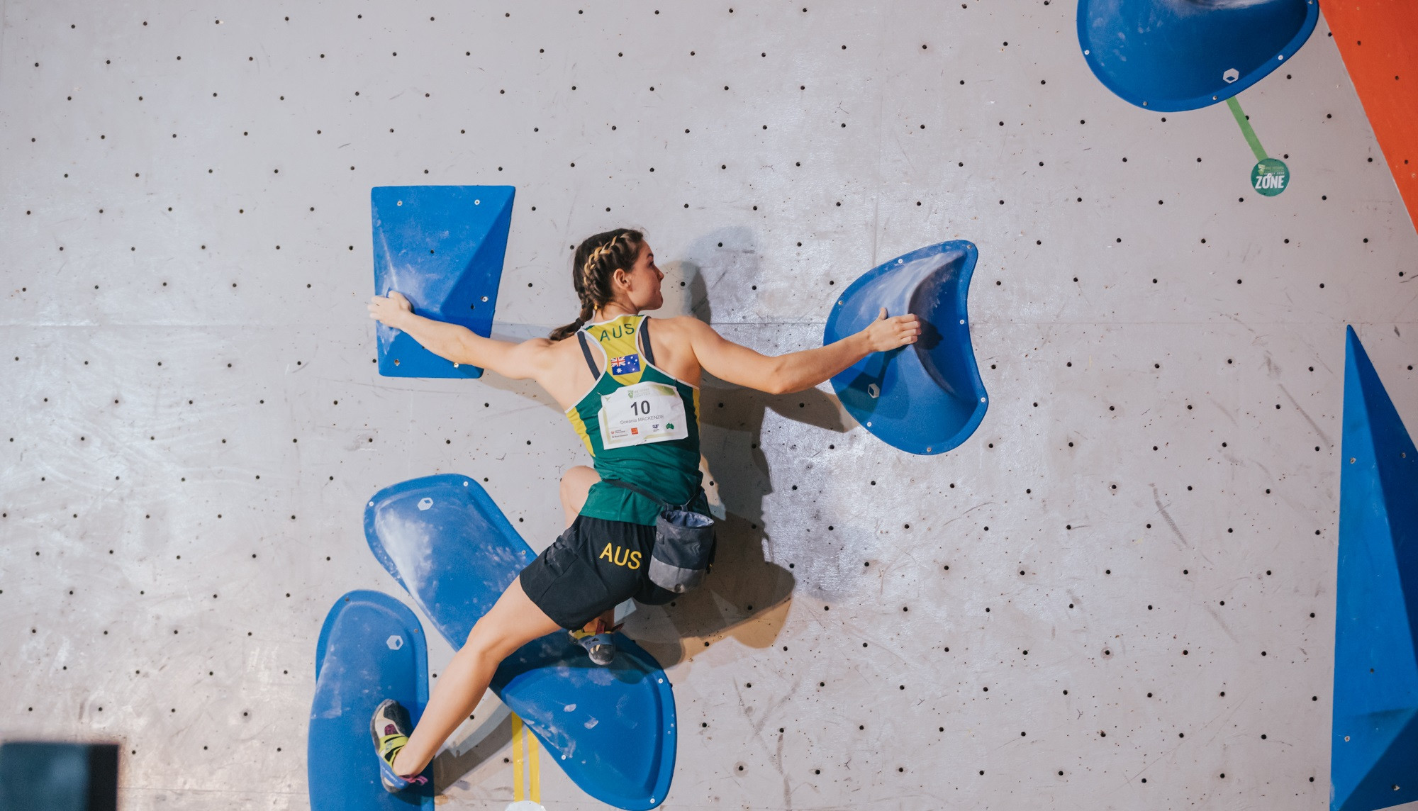 O'Halloran and MacKenzie earn Tokyo 2020 places at IFSC Oceania Championships