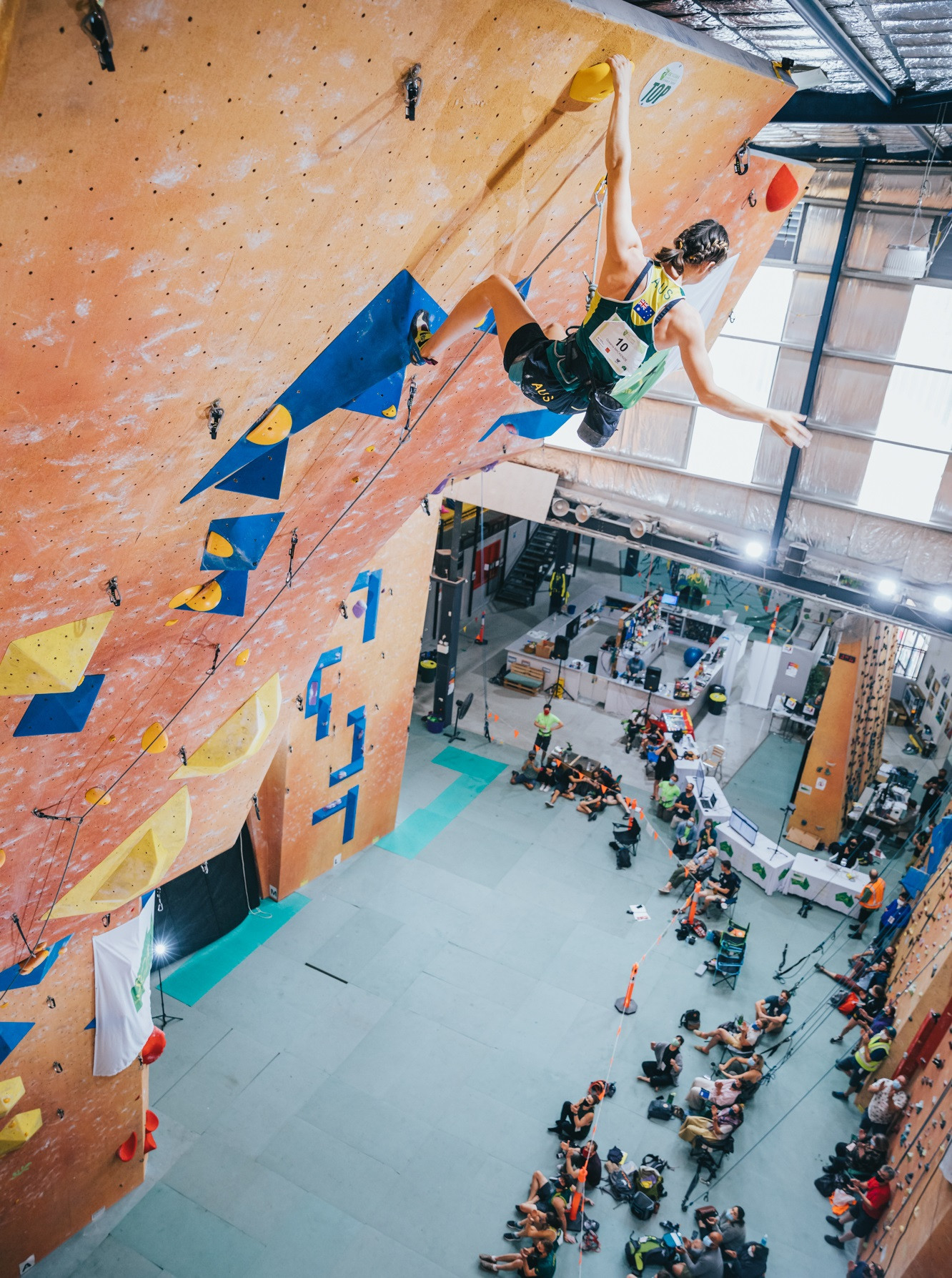 The IFSC Oceania Championships took place in Sydney ©IFSC