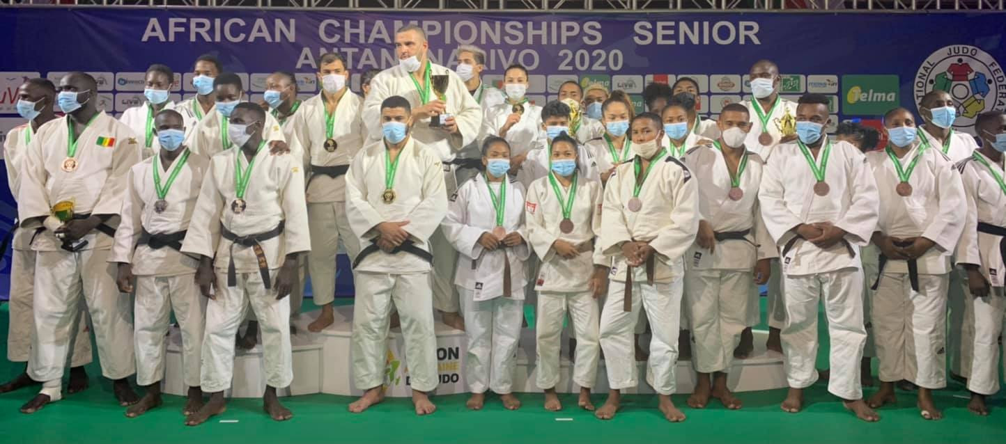Algeria triumphed in the team contest at the African Judo Championships ©Facebook