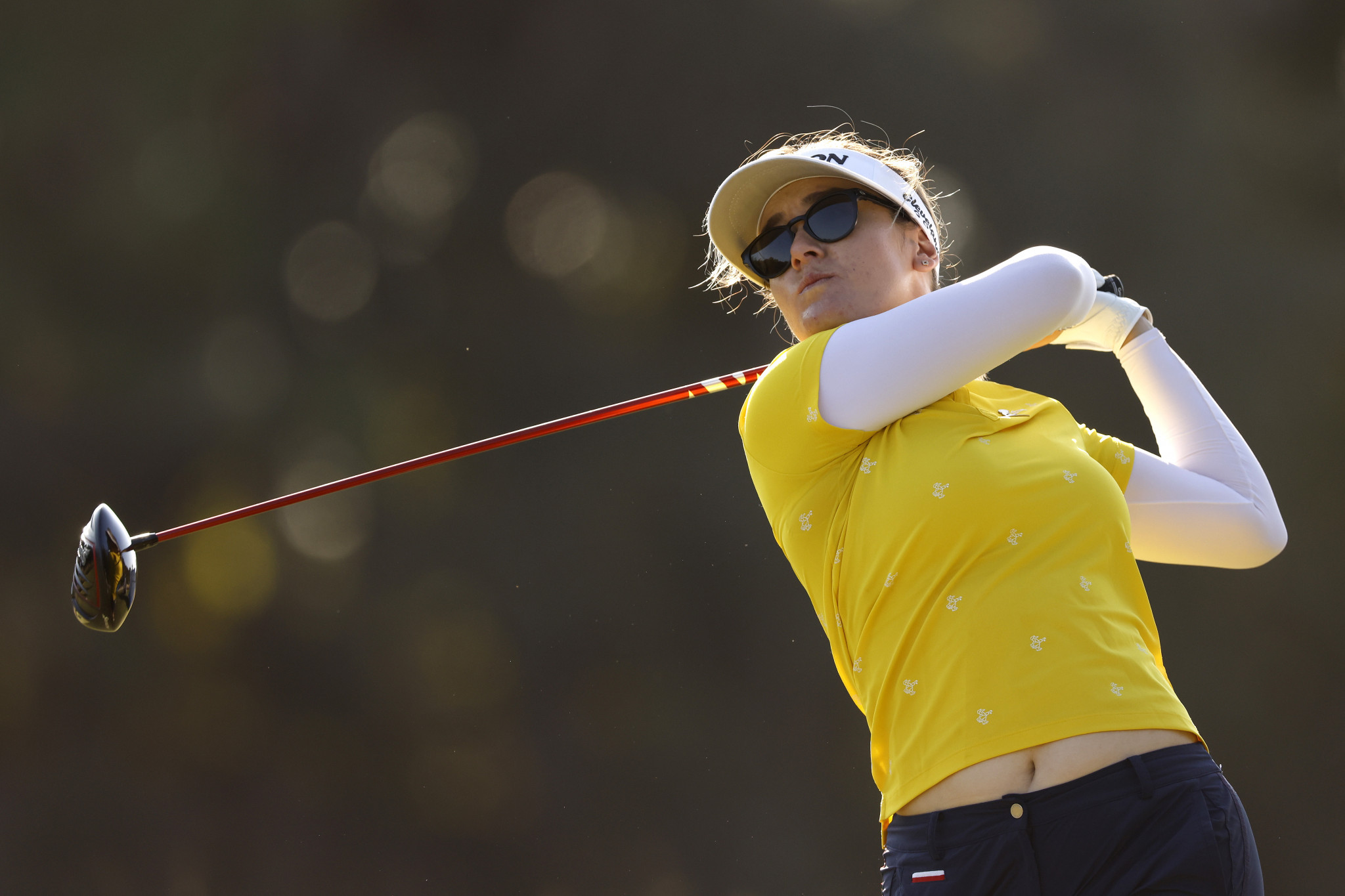 Australia's Hannah Green finished in a tie for second at the LPGA Tour's season ending event in Florida after carding a five-under-par round of 67 on the final day ©Getty Images