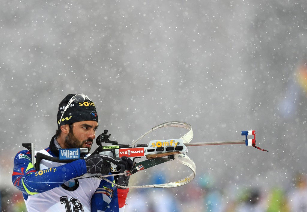 Fourcade powers to fifth win of IBU World Cup season in Ruhpolding