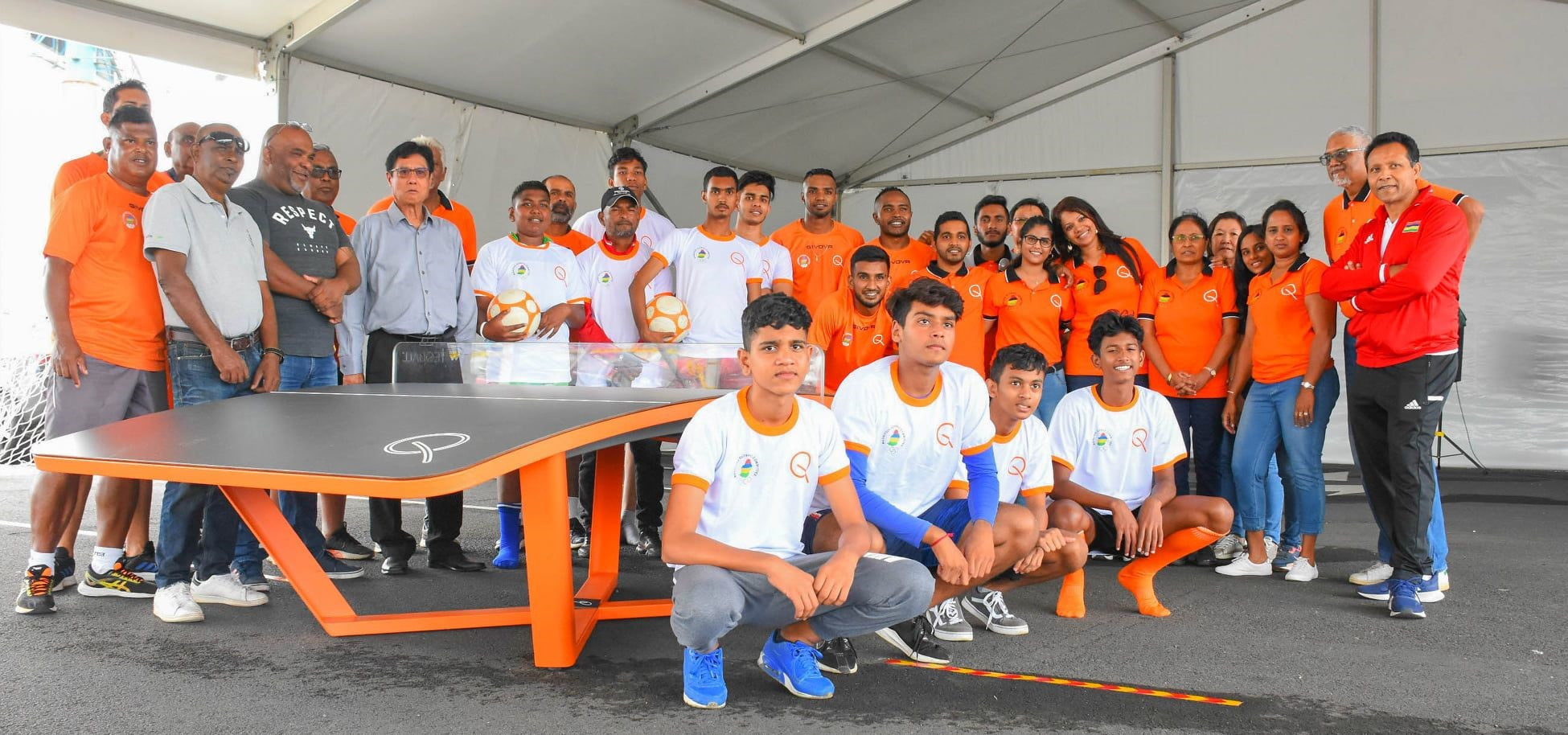 Mauritius Olympic Committee drives growth of teqball