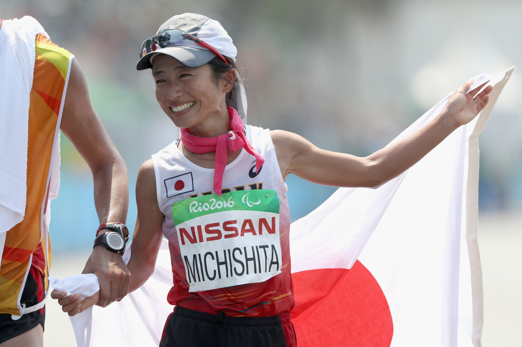 Misato Michishita is a silver medallist from the Rio 2016 Paralympics ©Getty Images