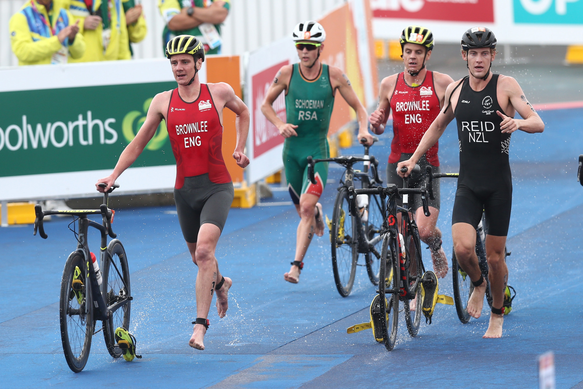 Triathletes are set to battle it out for places at next year's Olympic Games ©Getty Images