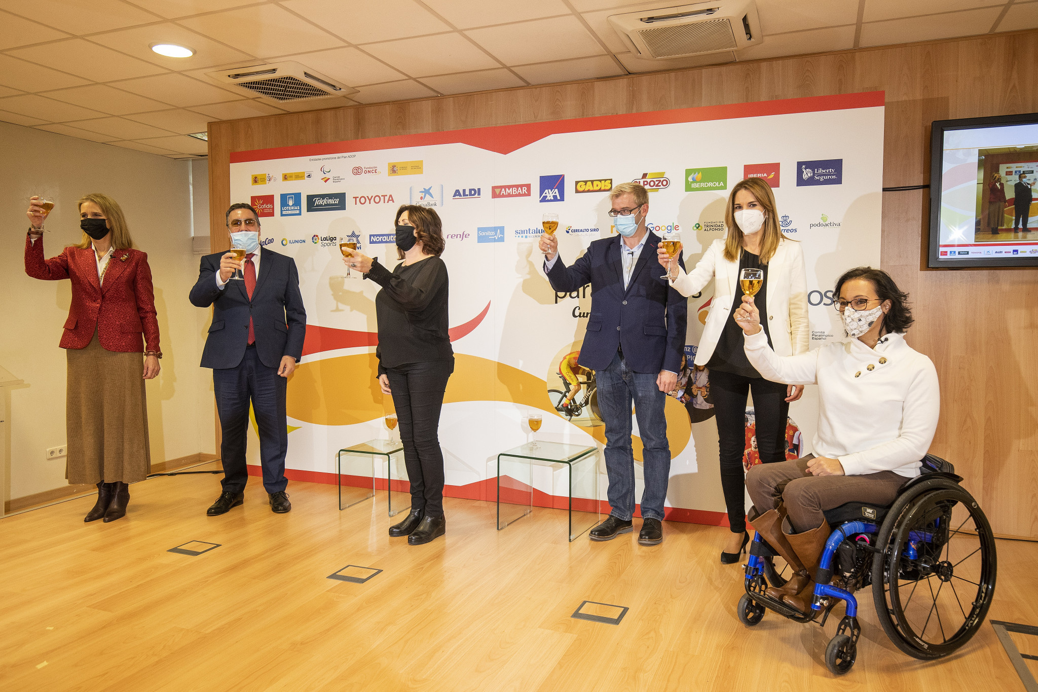 Spanish Paralympic Committee holds event to celebrate 25th anniversary