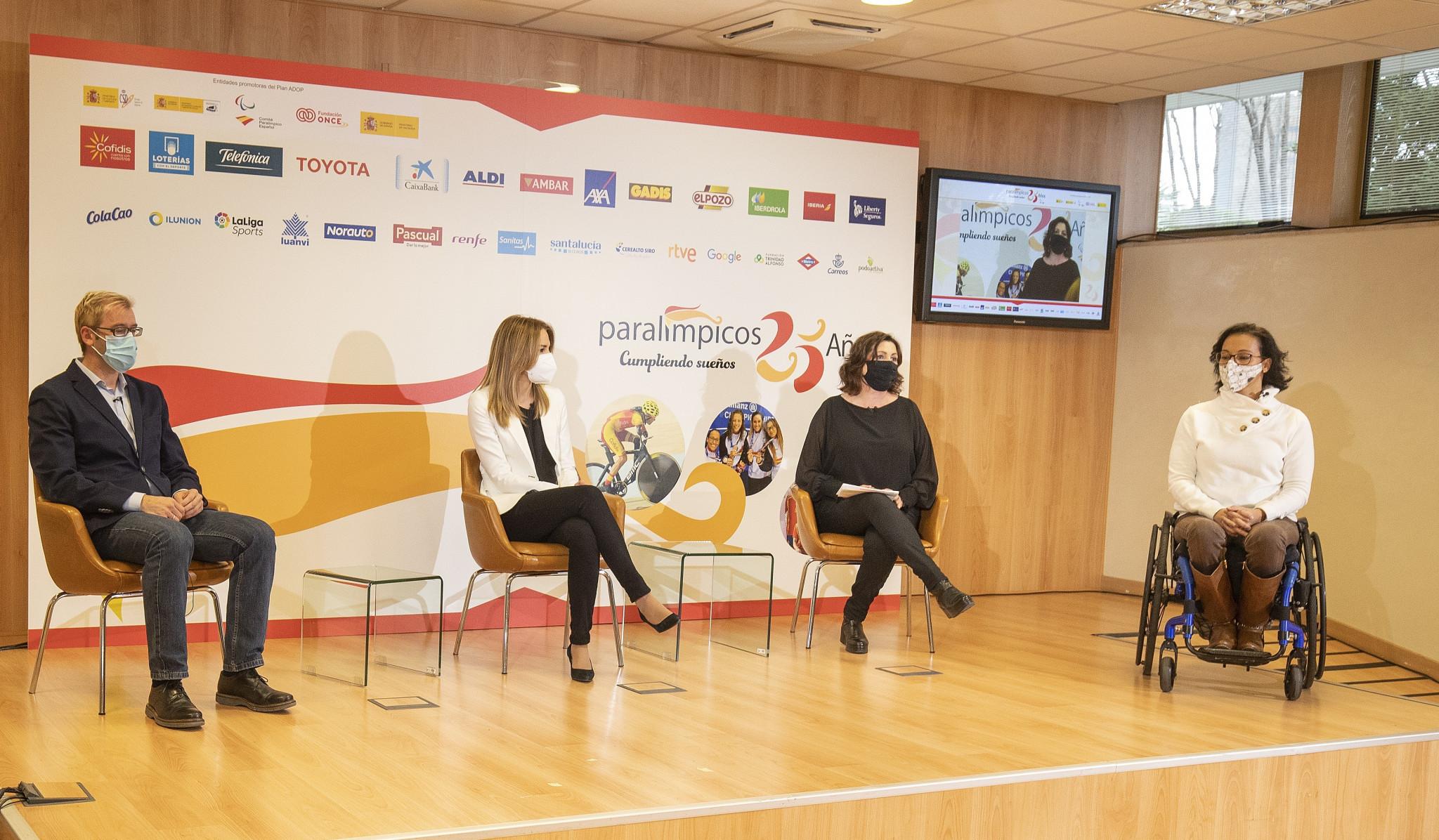Atletas paralímpicos y miembros del Comité Paralímpico Español hablan de los últimos 25 años © CPE