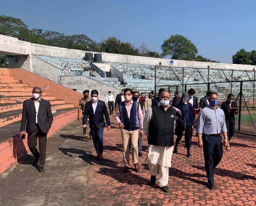 IOA President Batra visits 2023 Hockey World Cup site in Rourkela