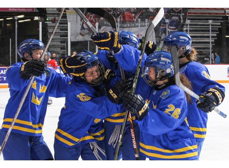 Sweden get better of Czech Republic to book semi-final spot at IIHF World Women's Under-18 Championship