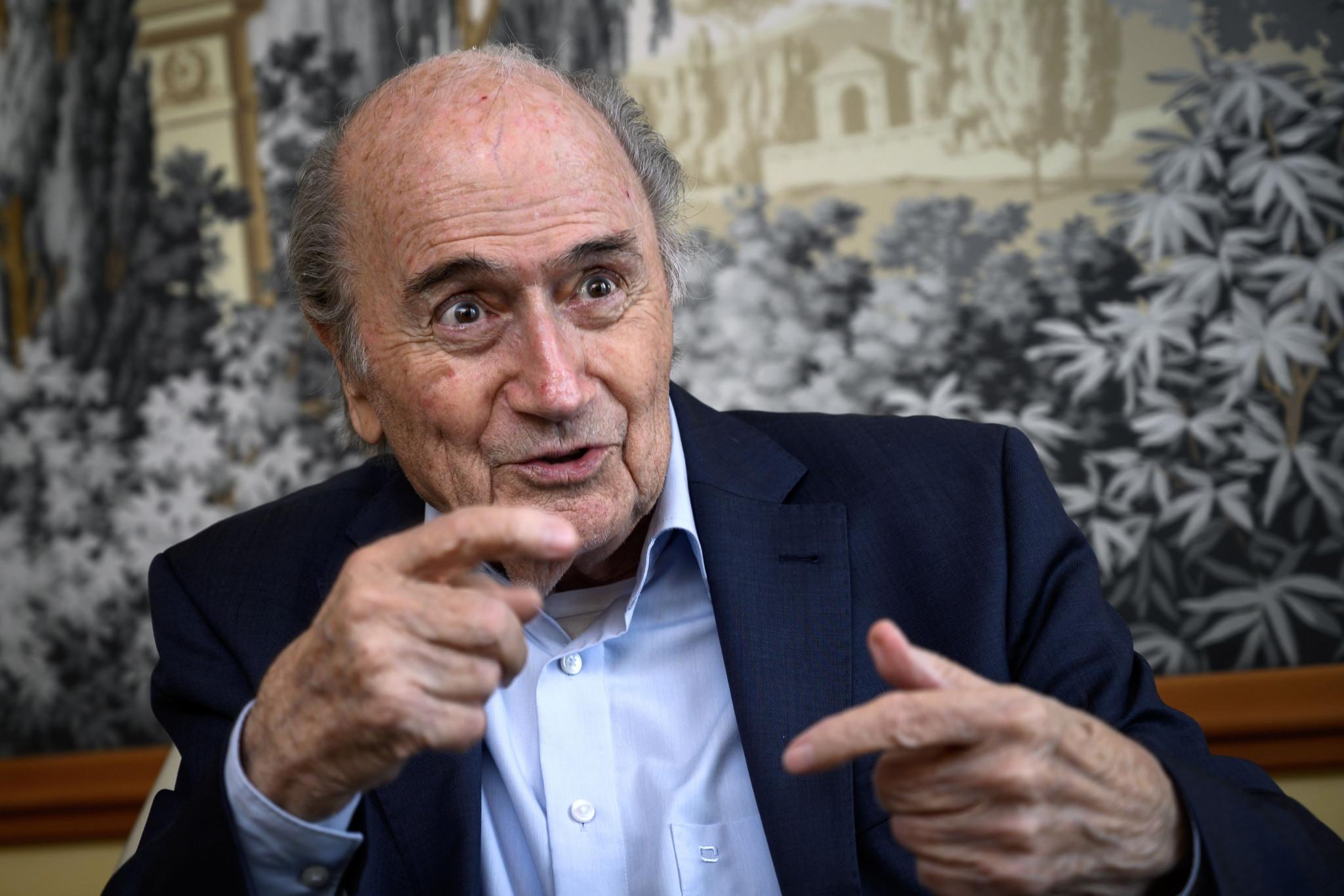 """FIFA lodges """"criminal mismanagement"""" complaint against former President Blatter"""