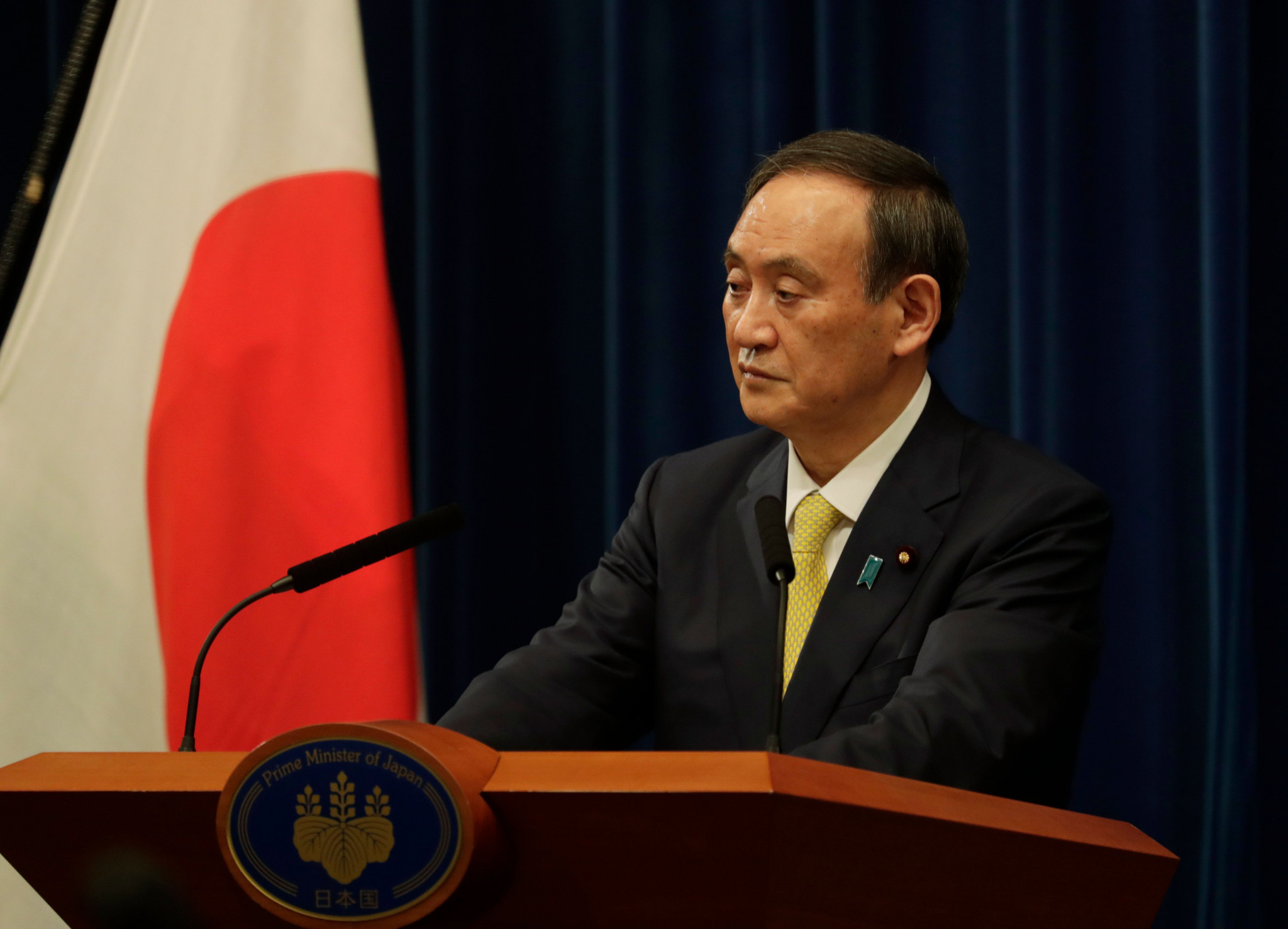 Suga denies need for state of emergency in Japan despite rise in COVID-19 cases