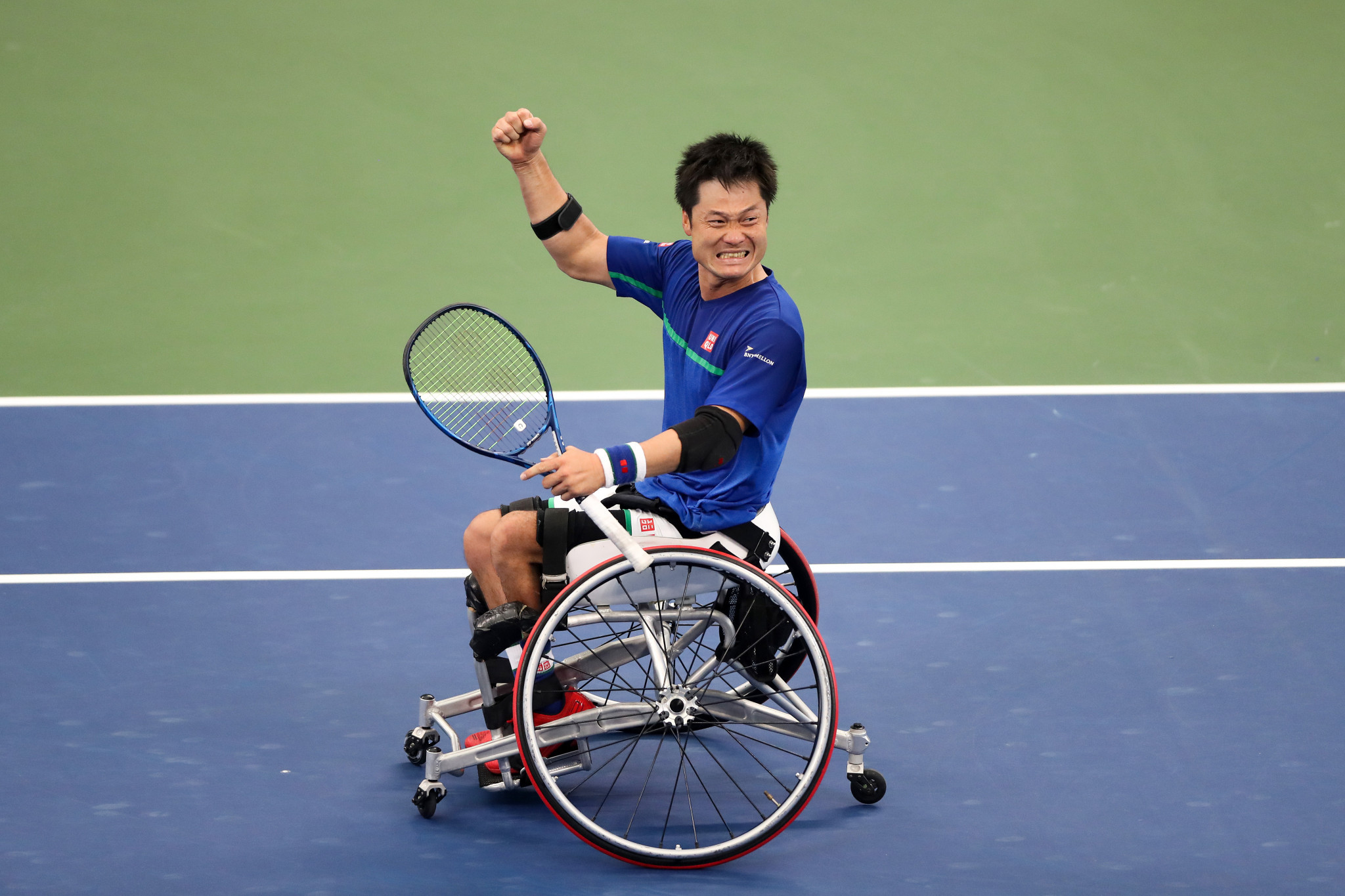 Japan's Shingo Kunieda ended the year as the wheelchair tennis men's world number one ©Getty Images