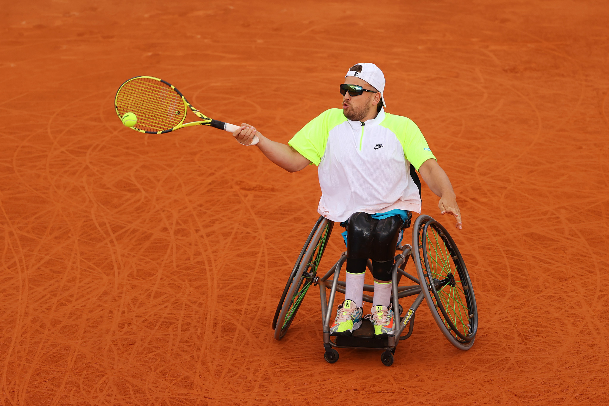 "Dylan Alcott said it was a ""massive honour"" to be the quads world number one at the end of the year ©Getty Images"