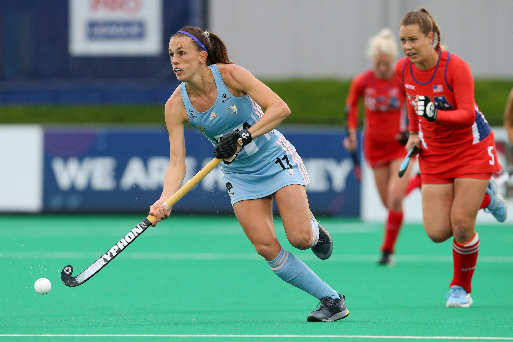 Carla Rebecchi made the top three FIH Pro League goals of the year after her effort against the United States ©Getty Images