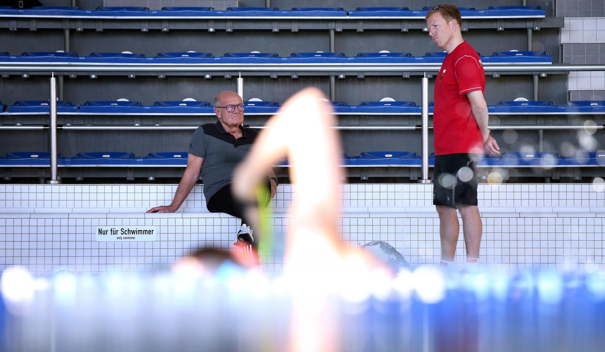 Bernd Berkhahn has been national coach for the German Swimming Association since 2019 ©Getty Images