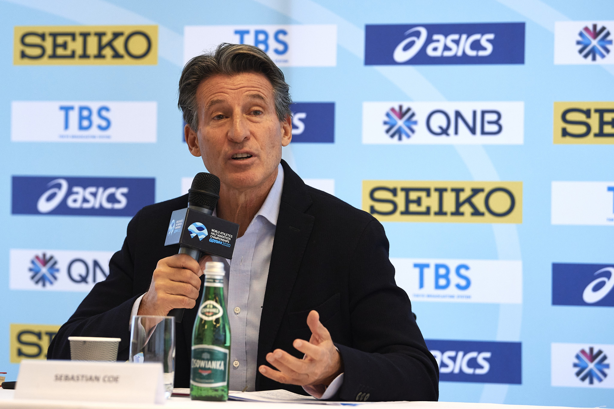 """Sebastian Coe claimed track and field athletes who are doping have a """"greater chance of being caught"""" at Tokyo 2020 ©Getty Images"""