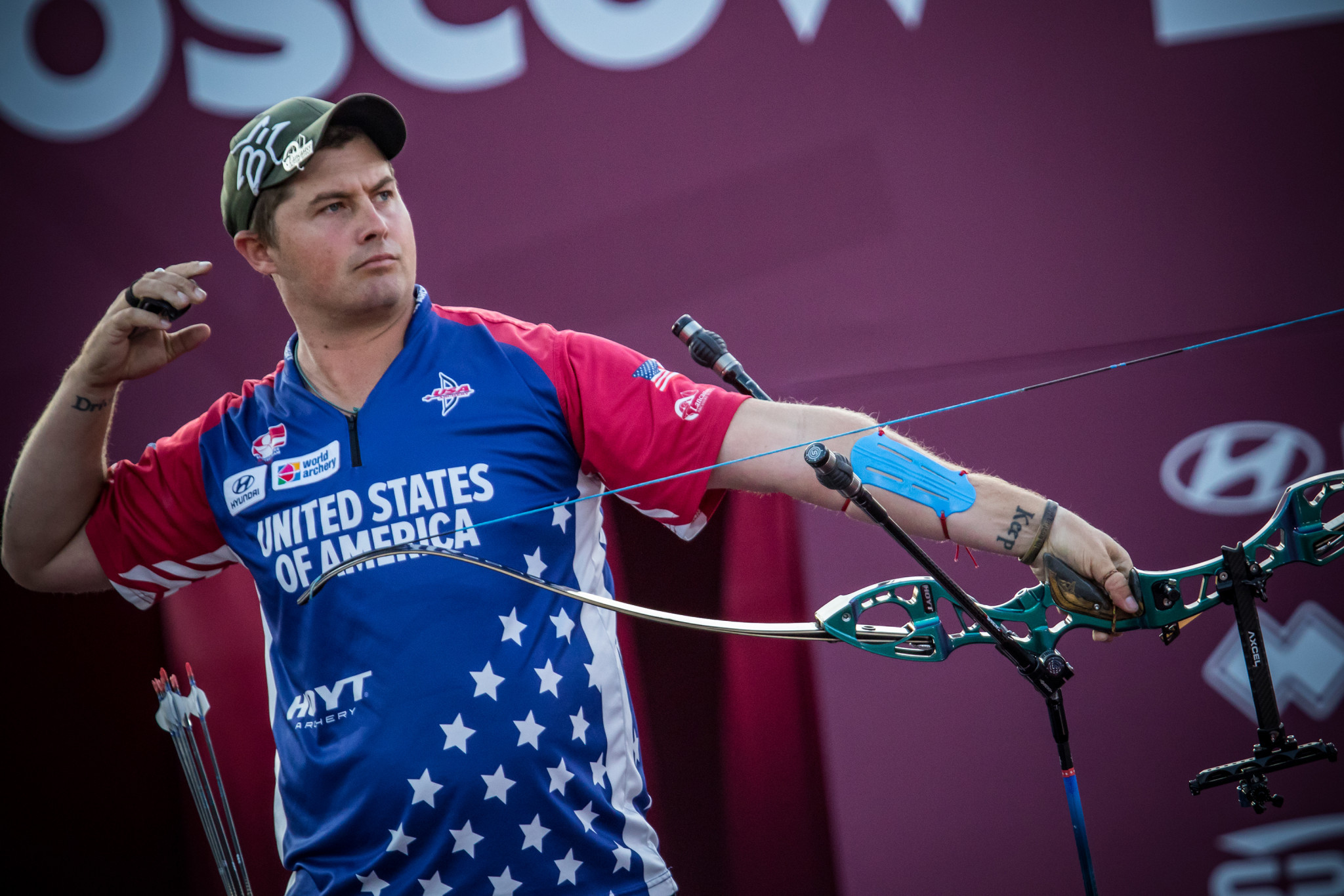 USADA find three-time Olympic archer Ellison not at fault after positive doping test