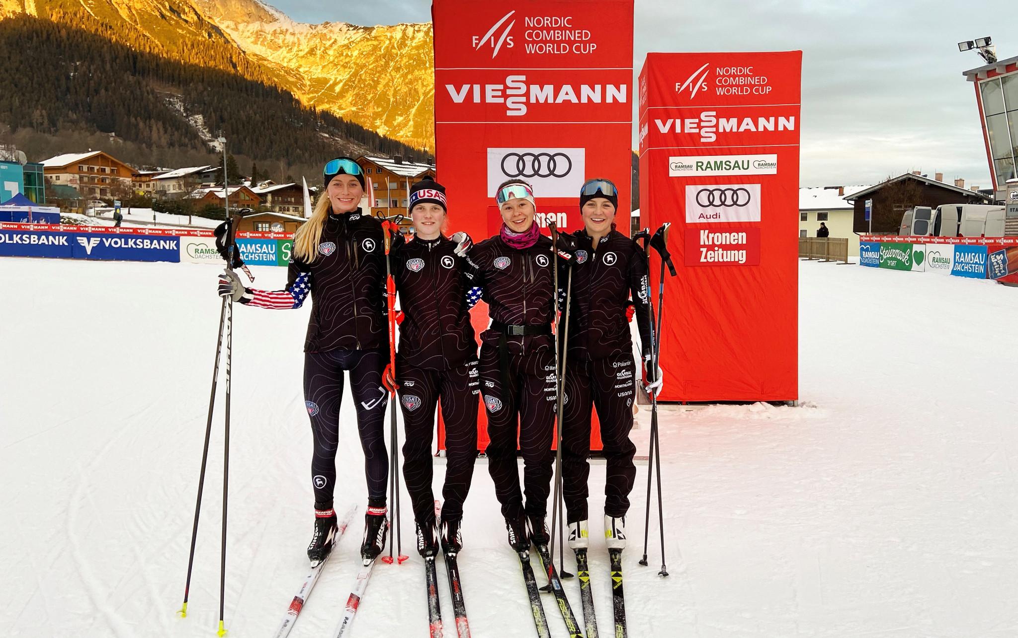 USA Nordic stars stand out among rivals thanks to new Podiumwear uniform