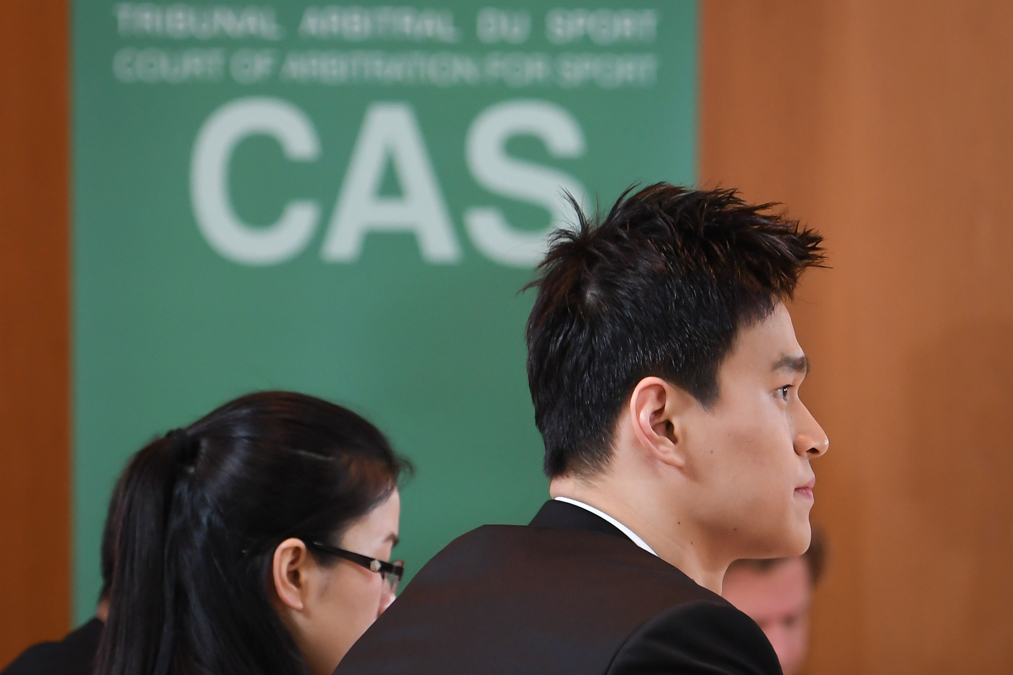 Sun Yang's CAS hearing took place in public - the first CAS hearing to do so since 1999 ©Getty Images