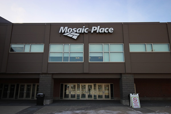 The competitions are set to take place within the Mosaic Place complex ©Ford Moose Jaw Curling Centre
