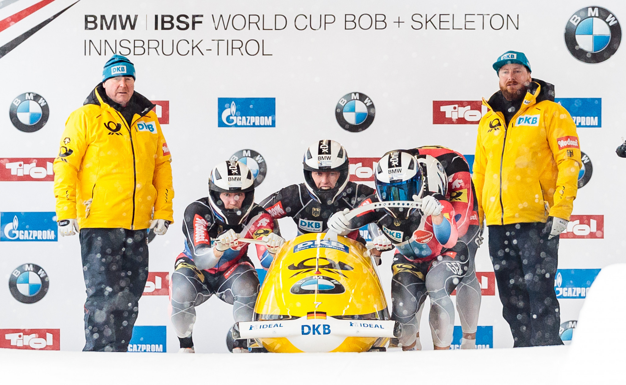 Innsbruck will now stage three IBSF World Cup legs this season ©Getty Images