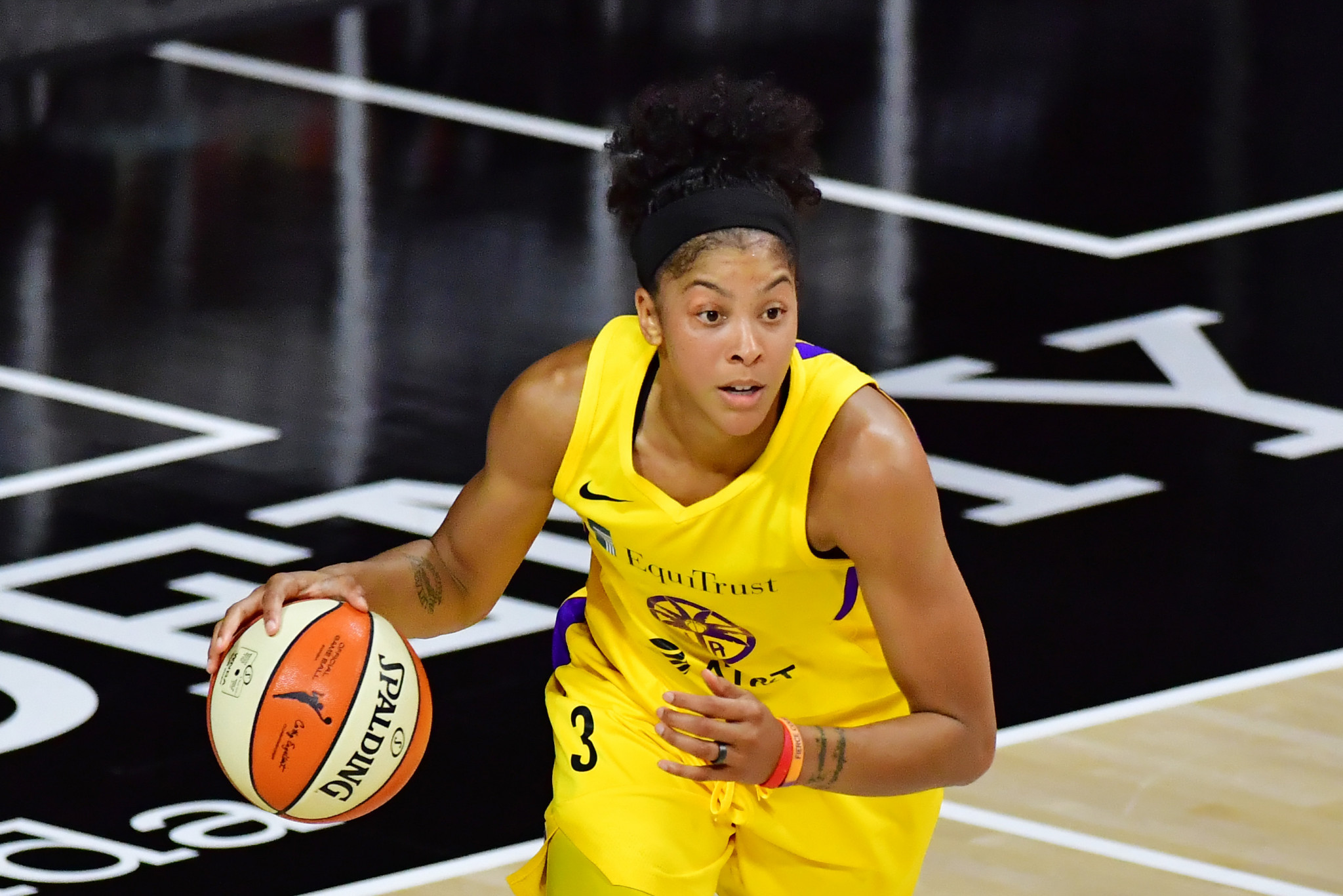 Two-time Olympic basketball champion Candace Parker is among the athlete signatories ©Getty Images