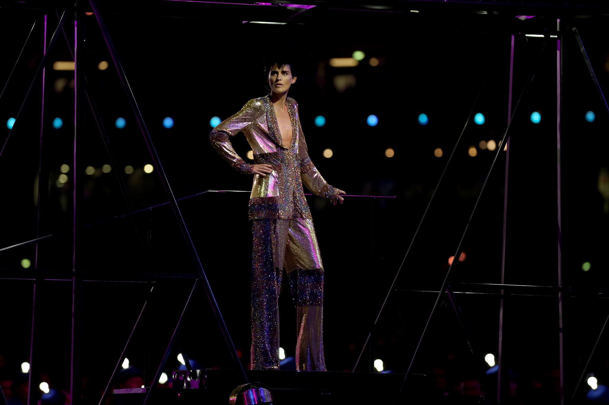 Supermodel Stella Tennant, who strode London 2012 Closing Ceremony catwalk, dies aged 50