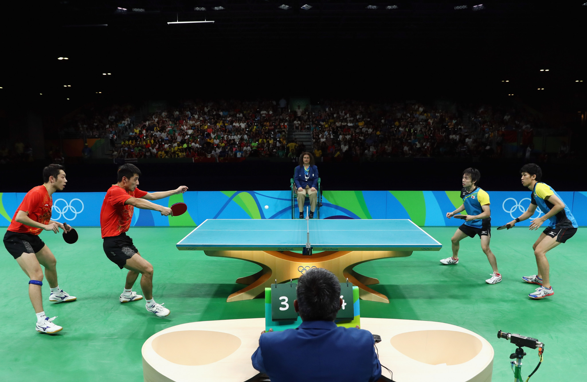 The Olympic Games, WTT Grand Smashes and ITTF World Championships will now all be worth 2,000 ranking points ©Getty Images