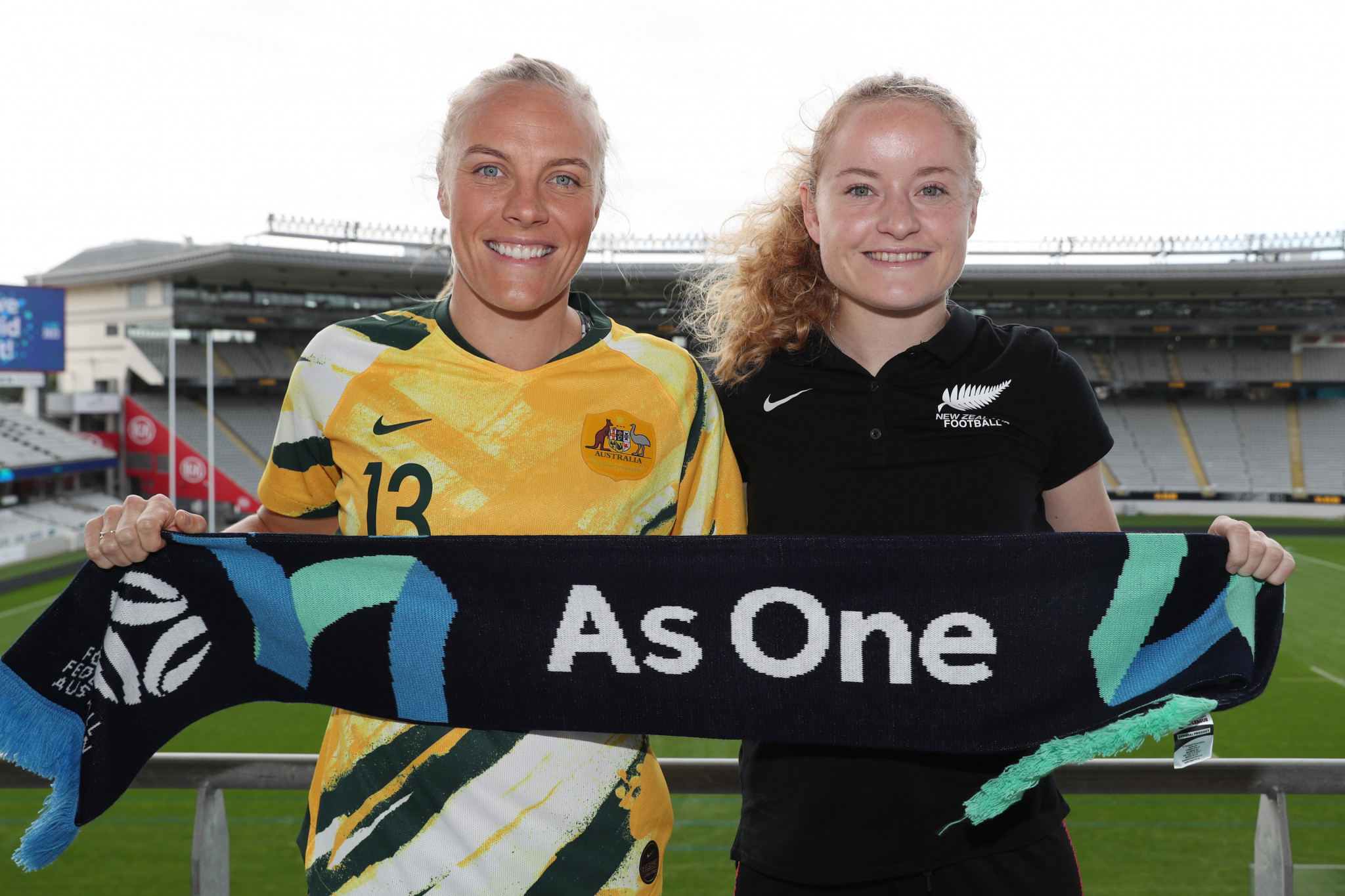 Australia and New Zealand are co-hosts of the 2023 FIFA Women's World Cup, so have already qualified ©Getty Images