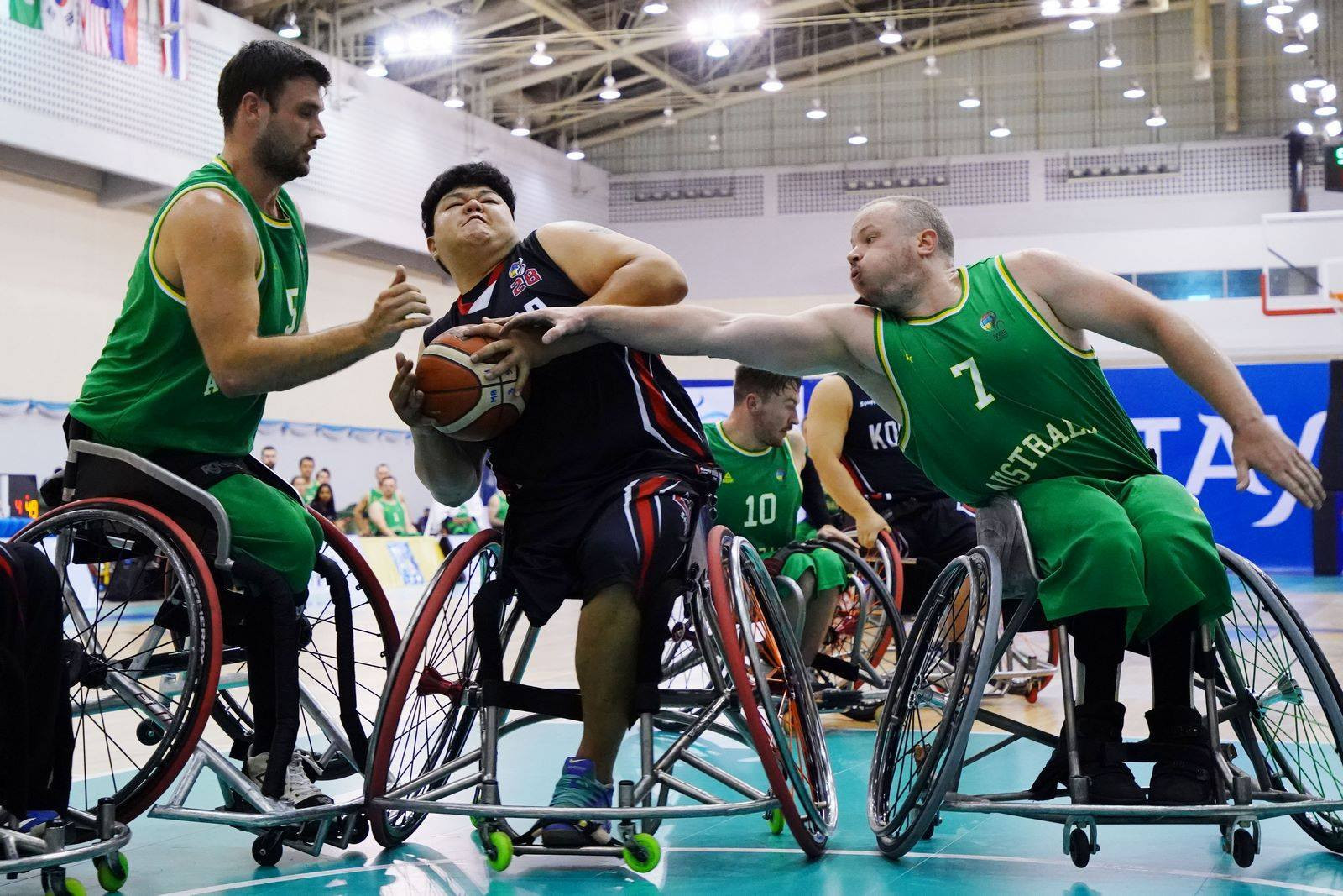 The number of players in a 3x3 wheelchair basketball team has been reduced from 5 to 4 ©IWBF