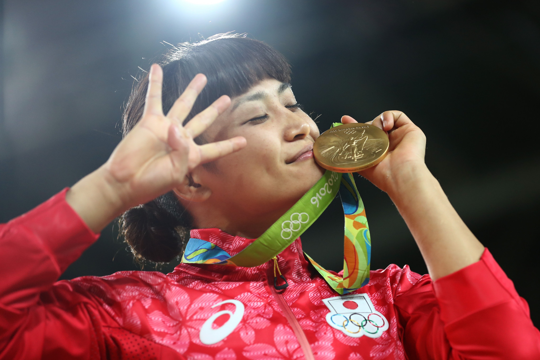 Kaori Icho is the only woman to win four consecutive Olympic gold medals in an individual event ©Getty Images